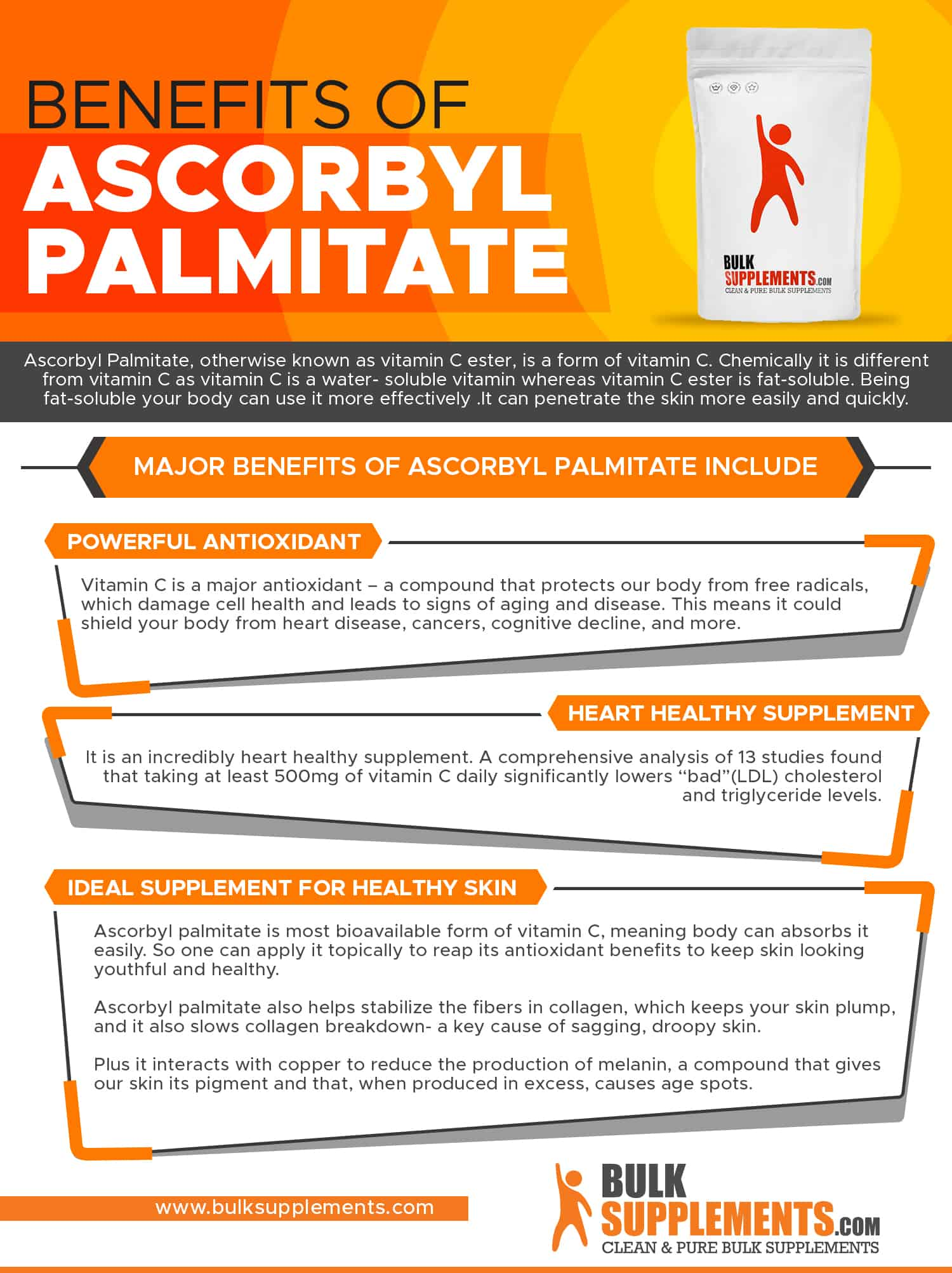 Benefits of Ascorbyl Palmitate