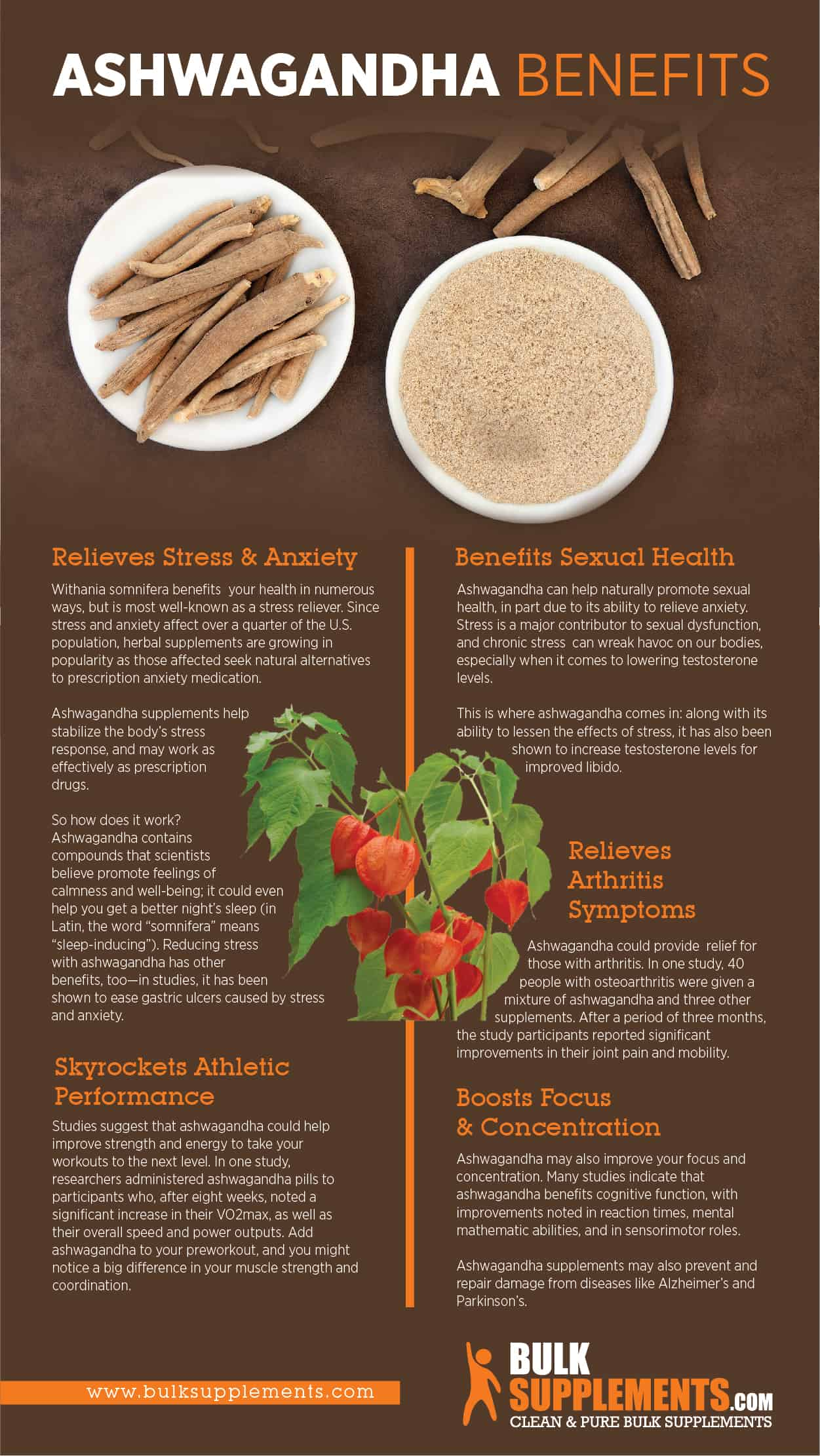 Ashwagandha Root Benefits, Dosage, Side Effects