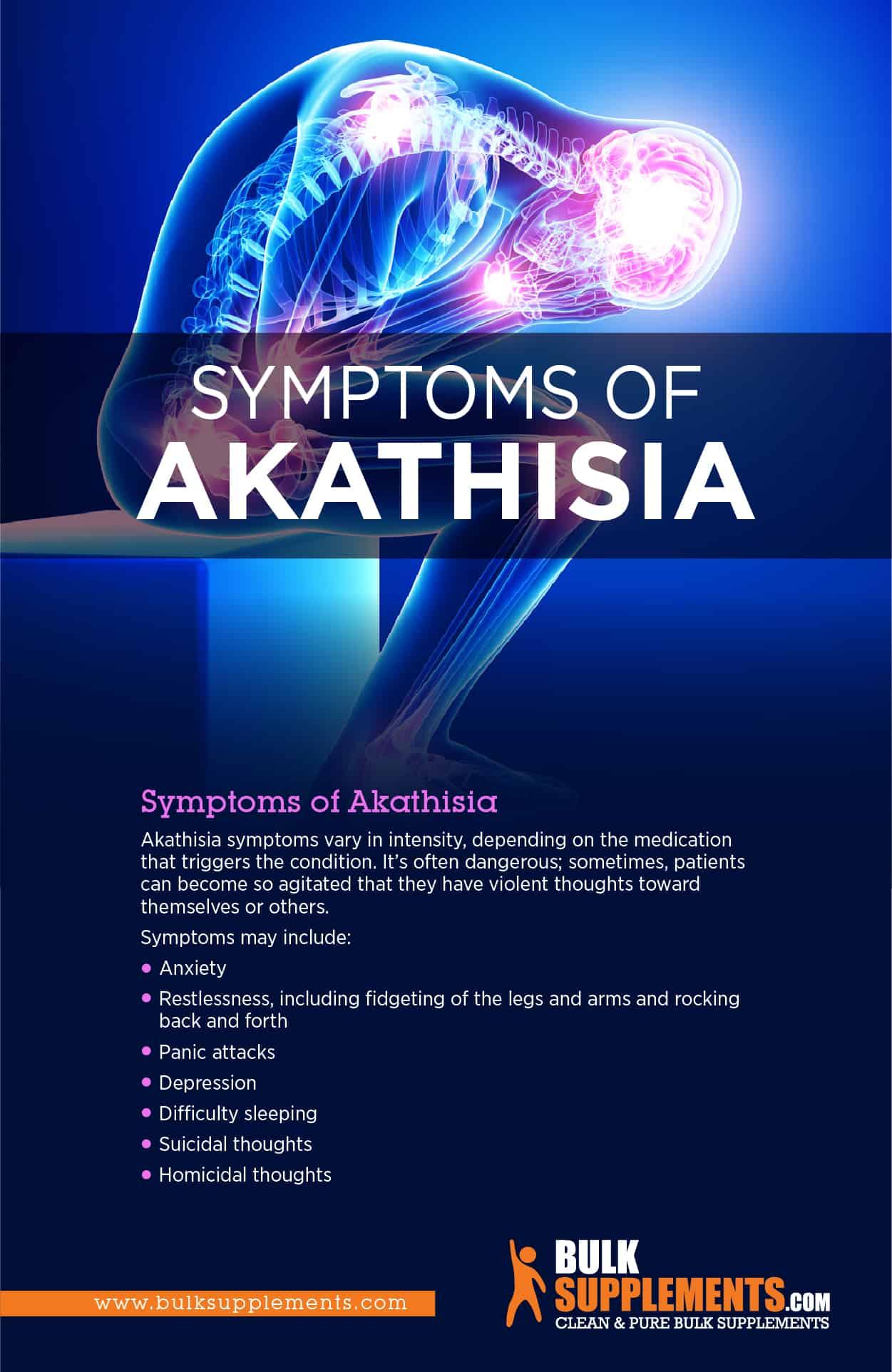 akathisia symtoms