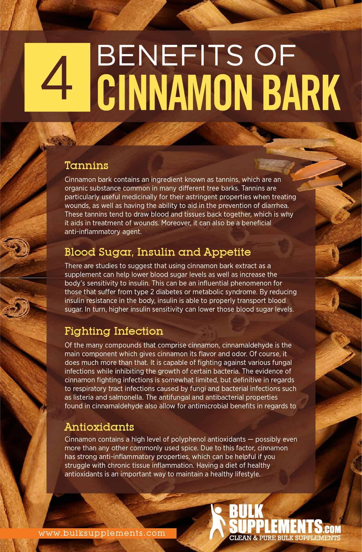 cinnamon bark benefits