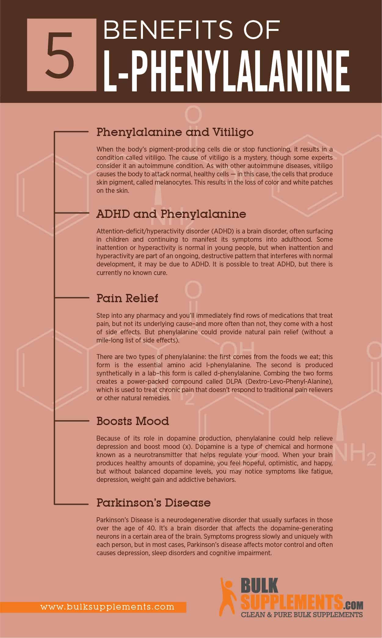 l-phenylalanine benefits