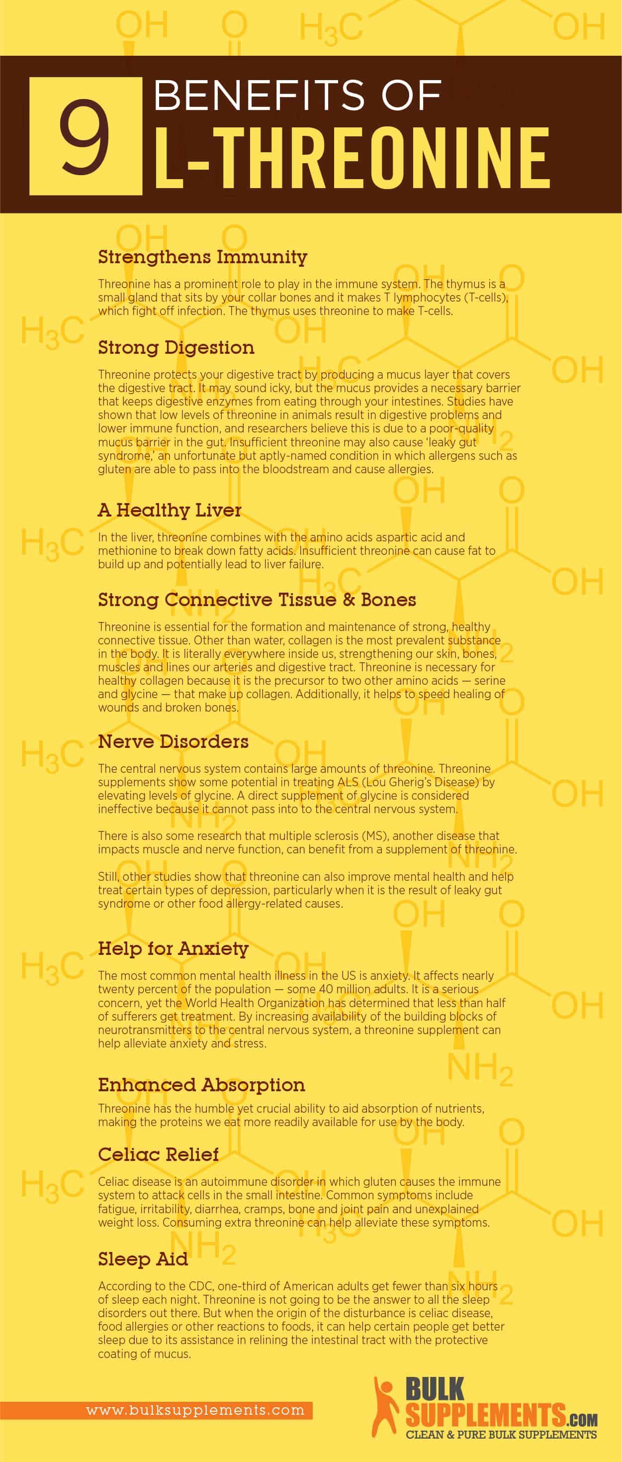 l threonine benefits