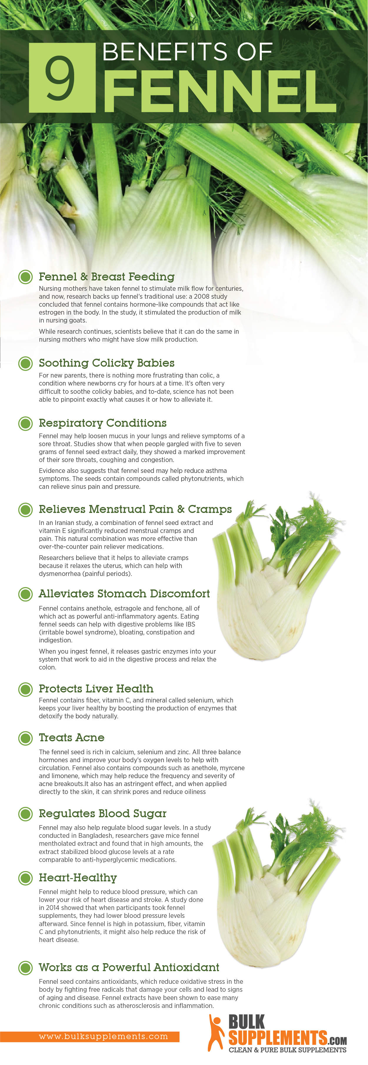 fennel benefits