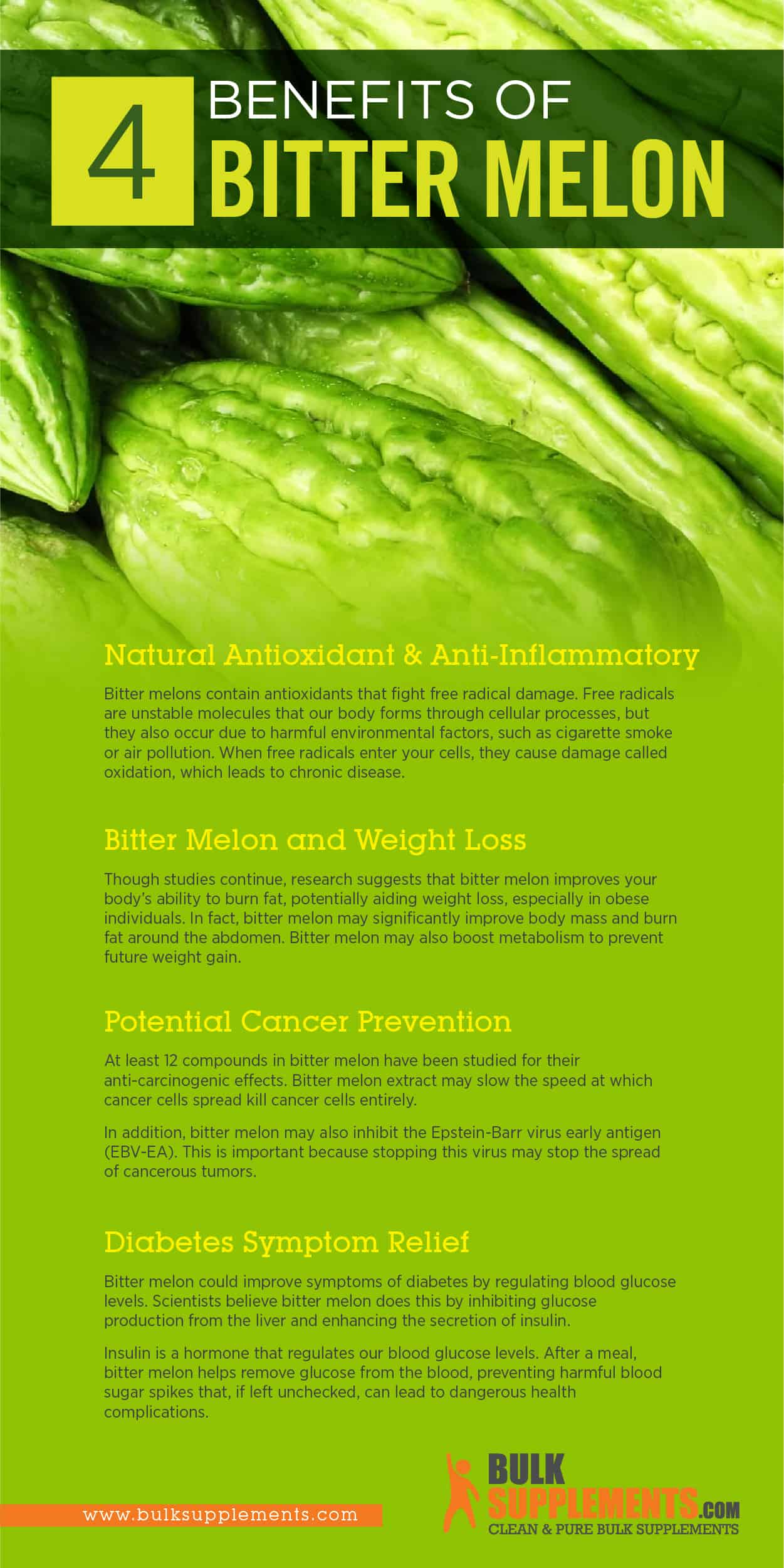 Bitter Melon Benefits, Side Effects and Dosage