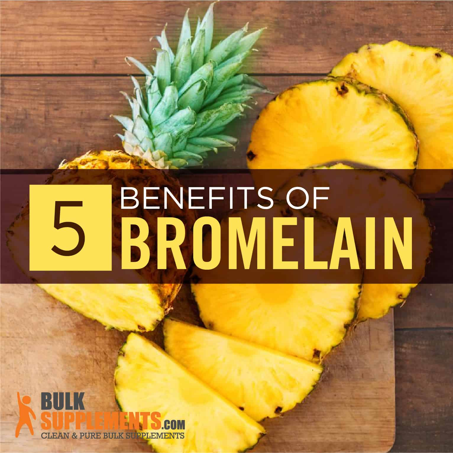 Bromelain Benefits Side Effects Dosage Bulksupplements Com