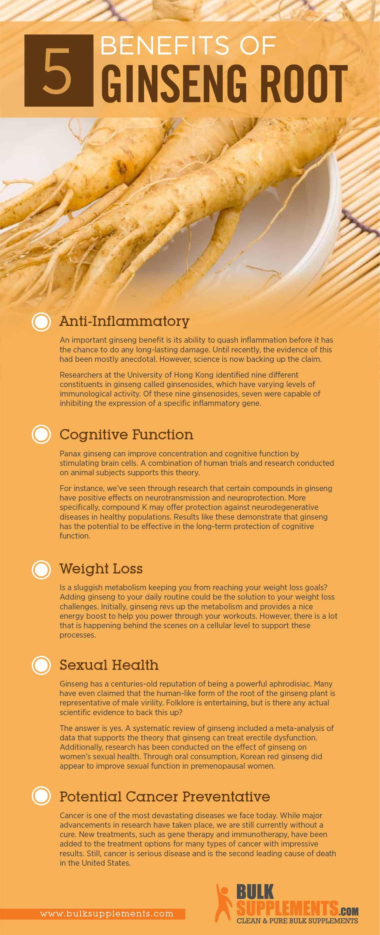 Ginseng Benefits