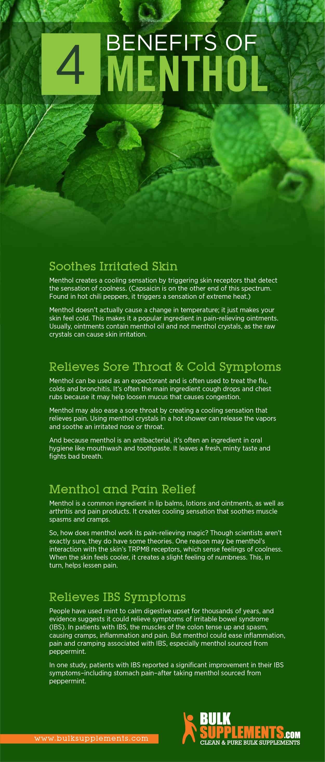 Menthol Infographic