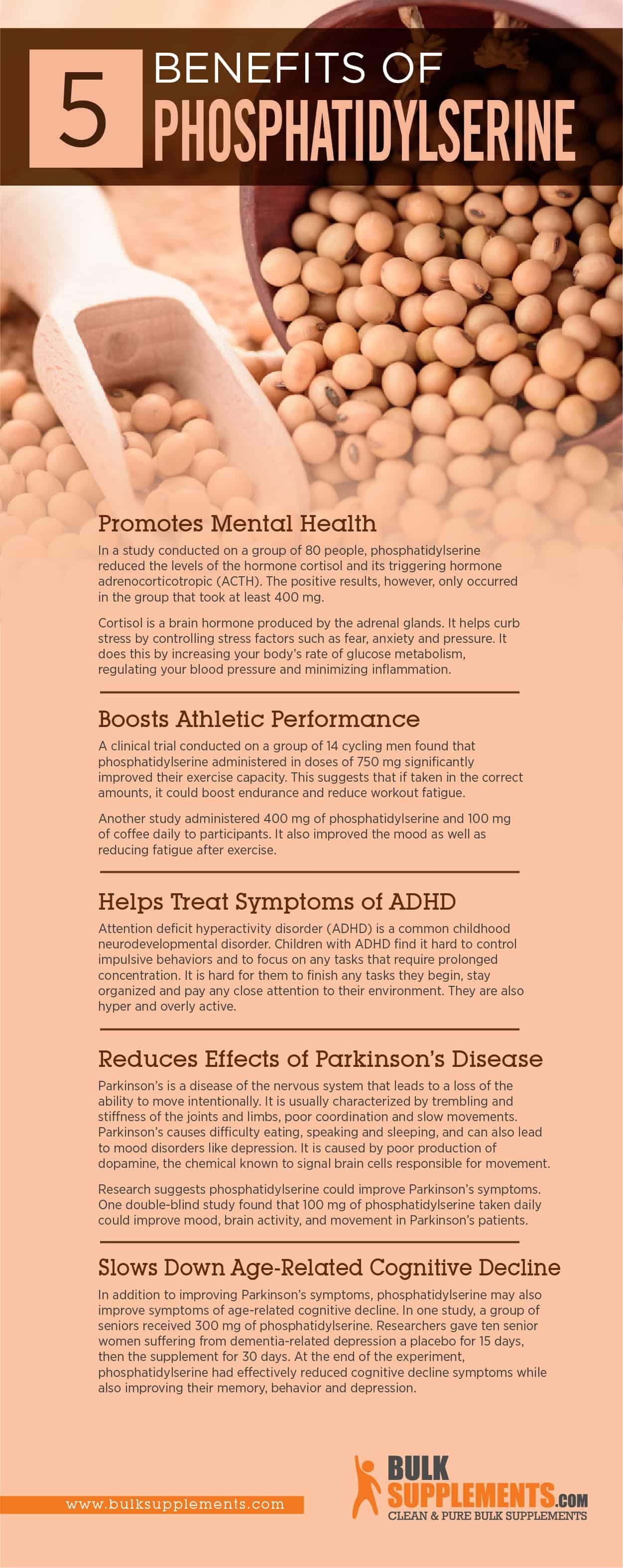Phosphatidylserine benefits inforgraphic