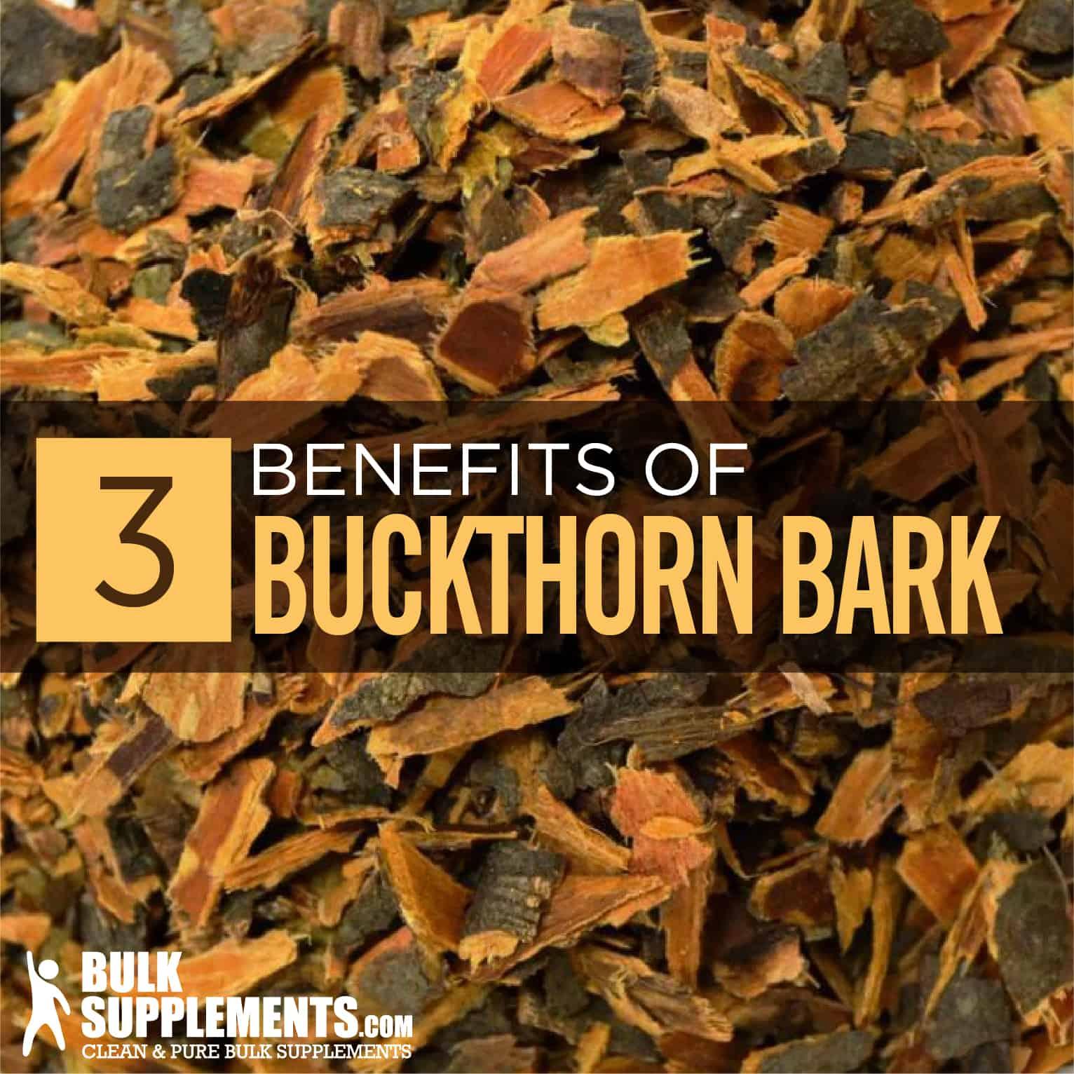 Buckthorn Bark