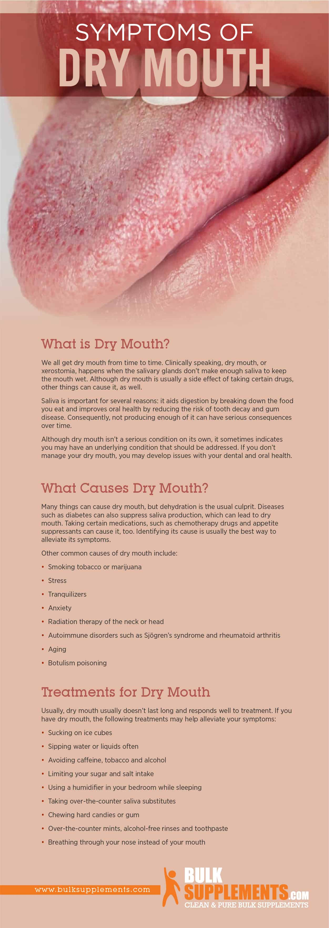 Dry Mouth Symptoms