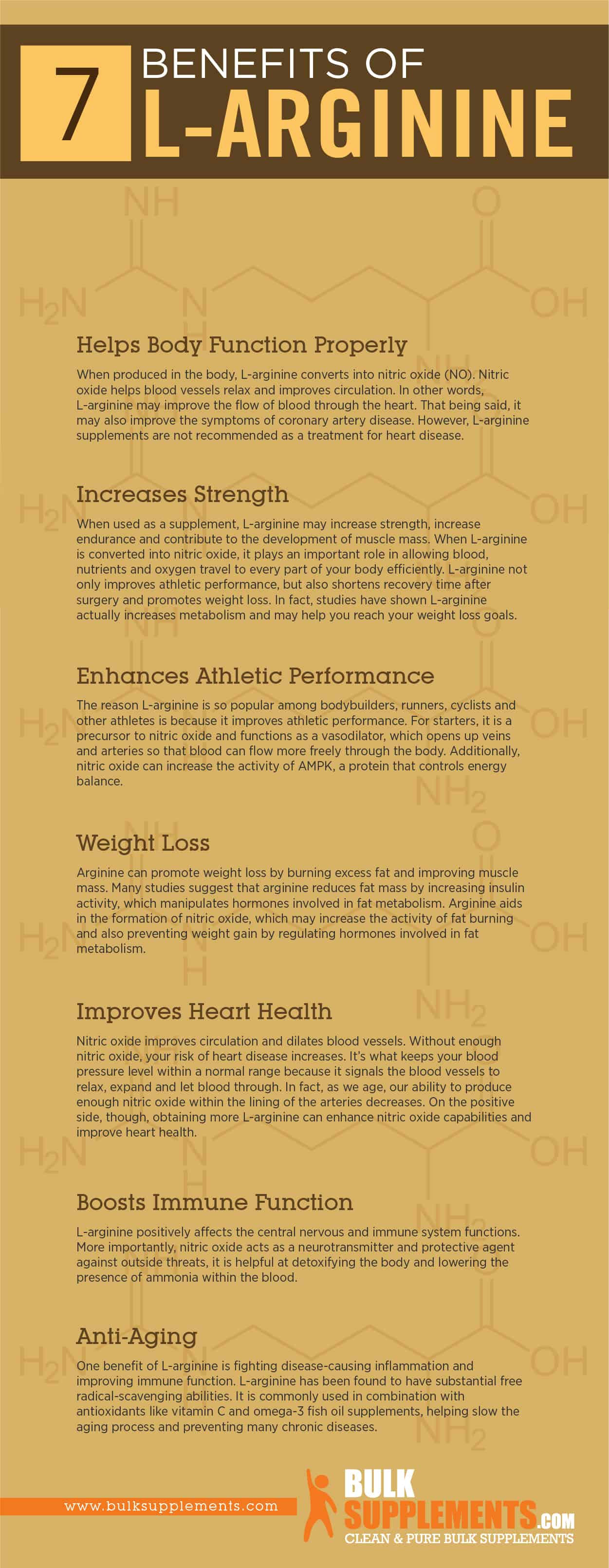 L-Arginine: Benefits, Side Effects & Dosage