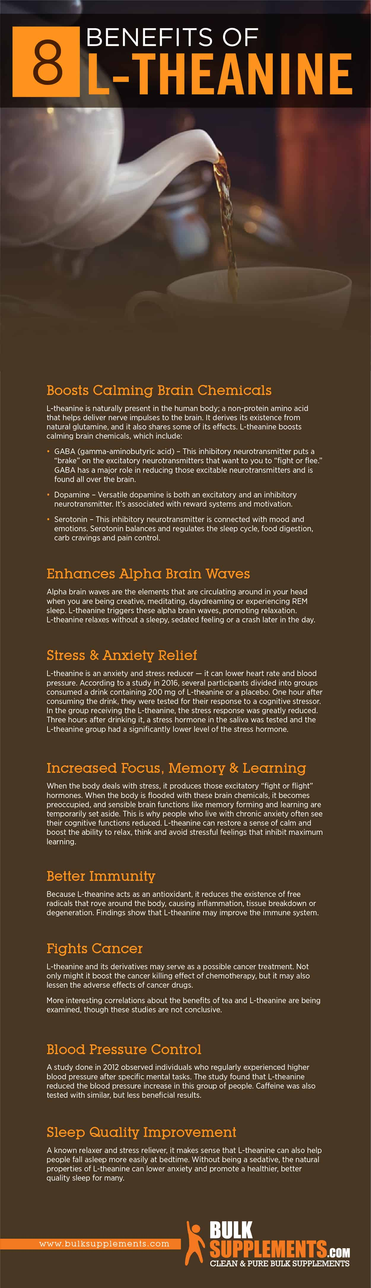 L-Theanine Benefits