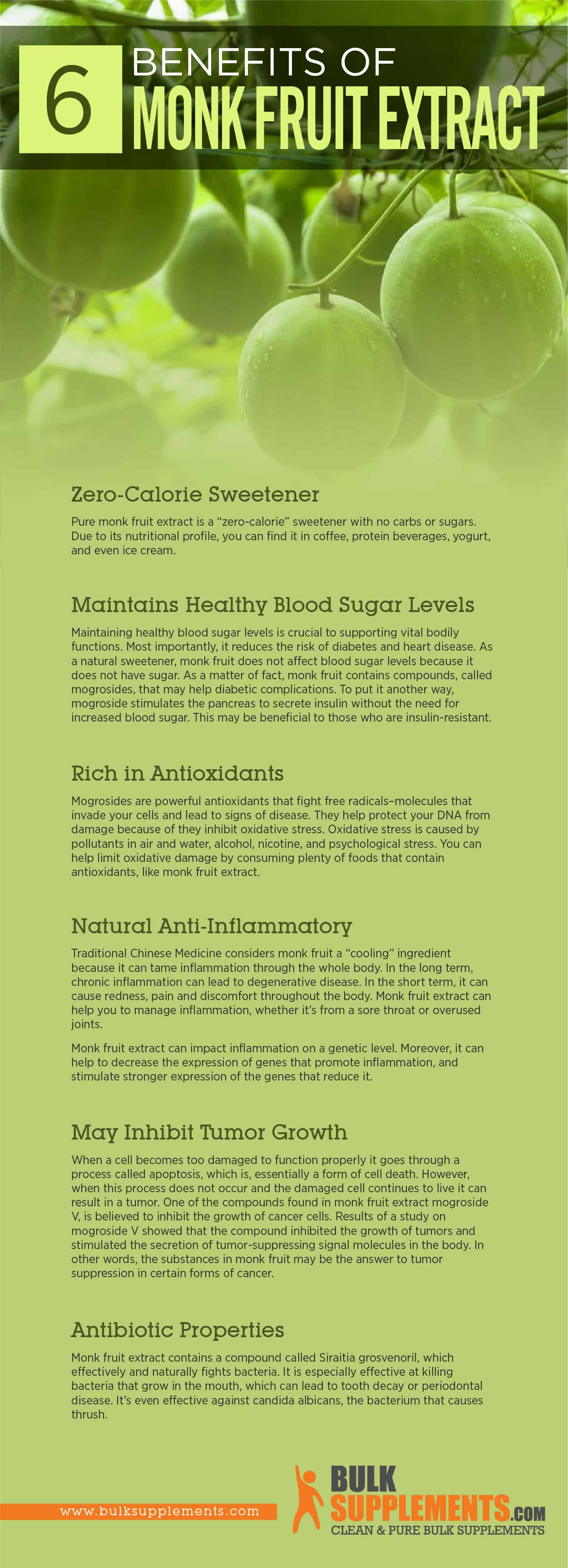 Monk Fruit Extract Benefits