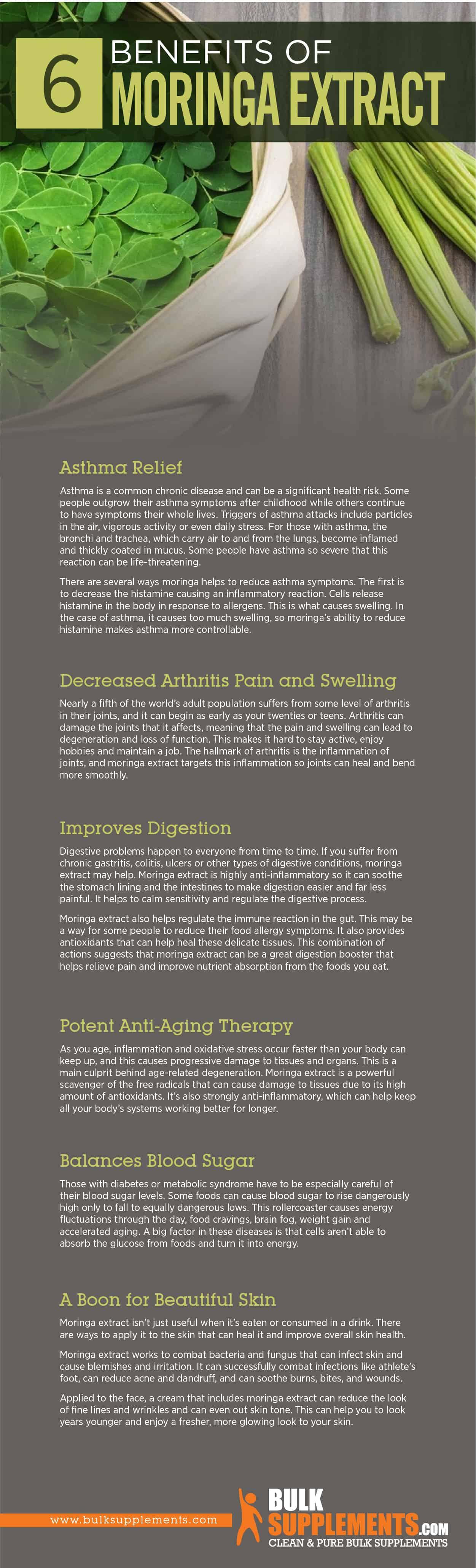 Moringa Extract Benefits