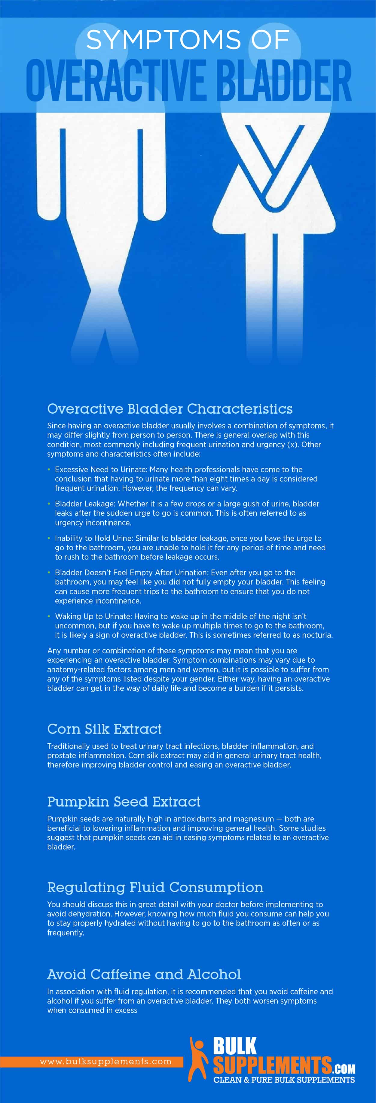 Overactive Bladder: Characteristics, Causes & Treatment