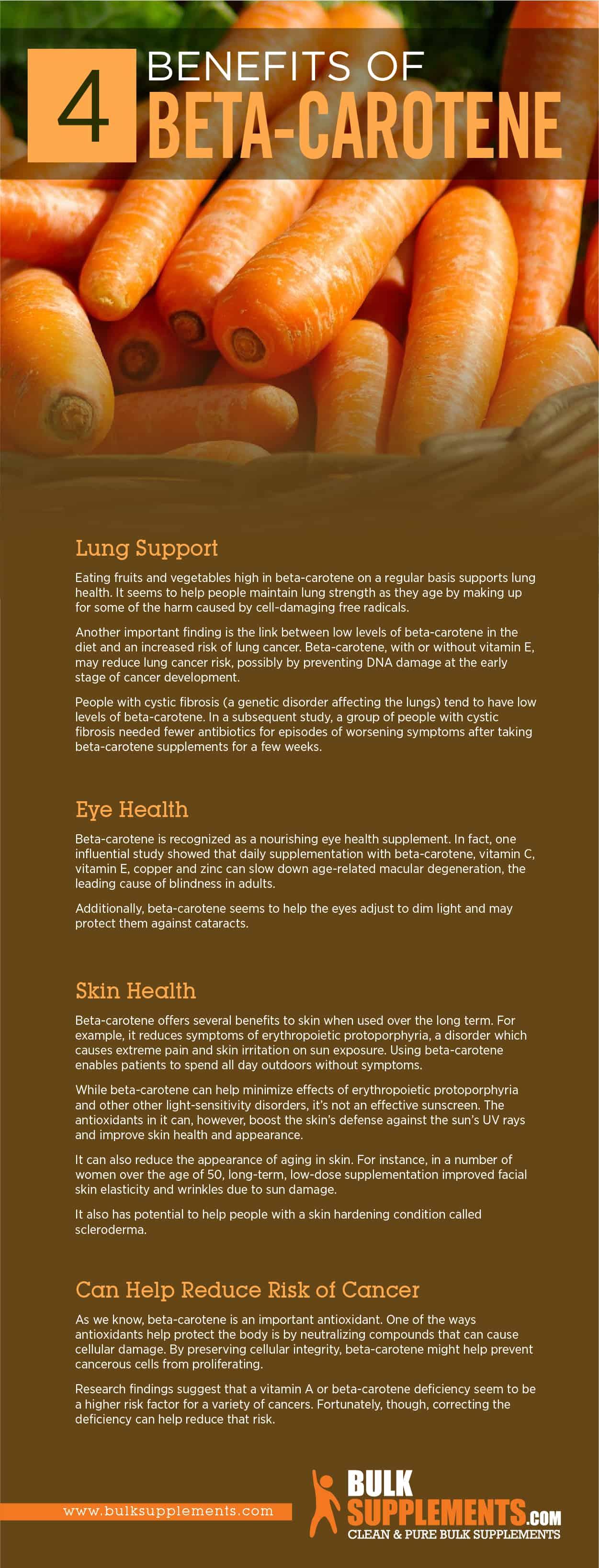 Beta Carotene Benefits