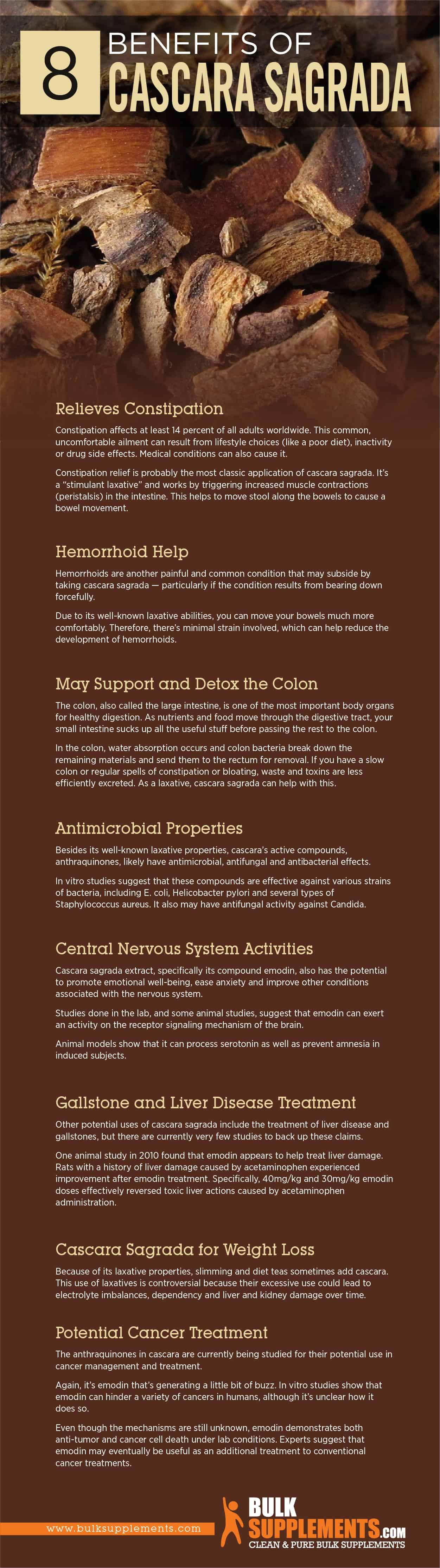 Cascara Sagrada Benefits