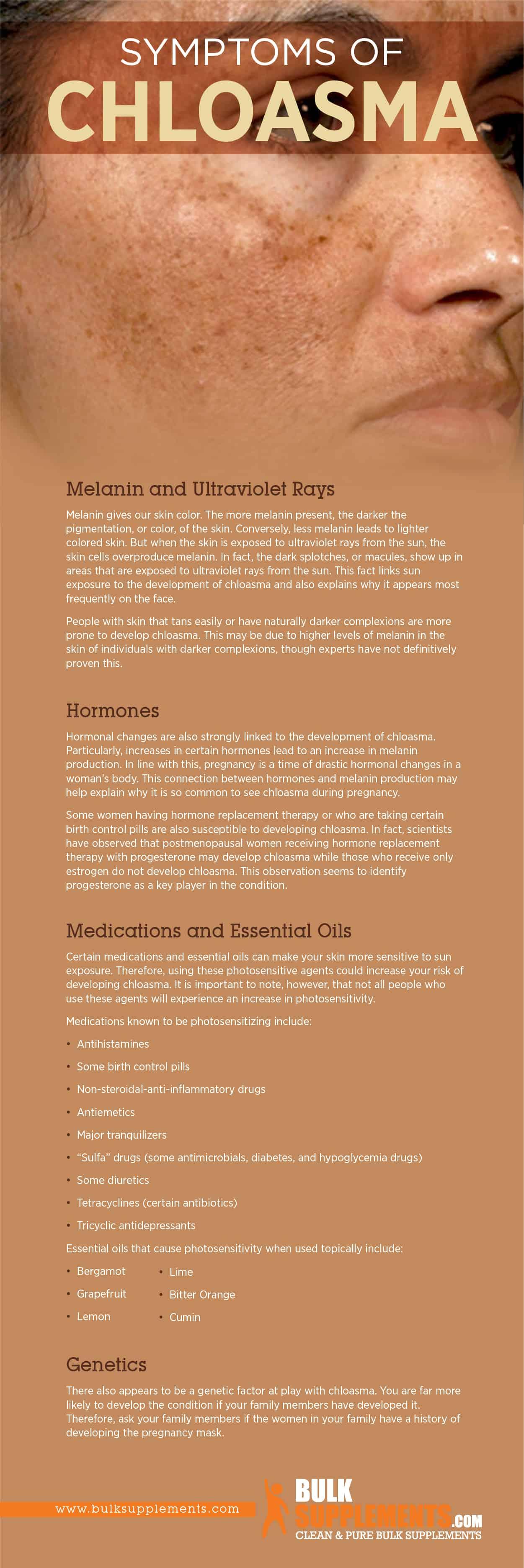 Chloasma Symptoms