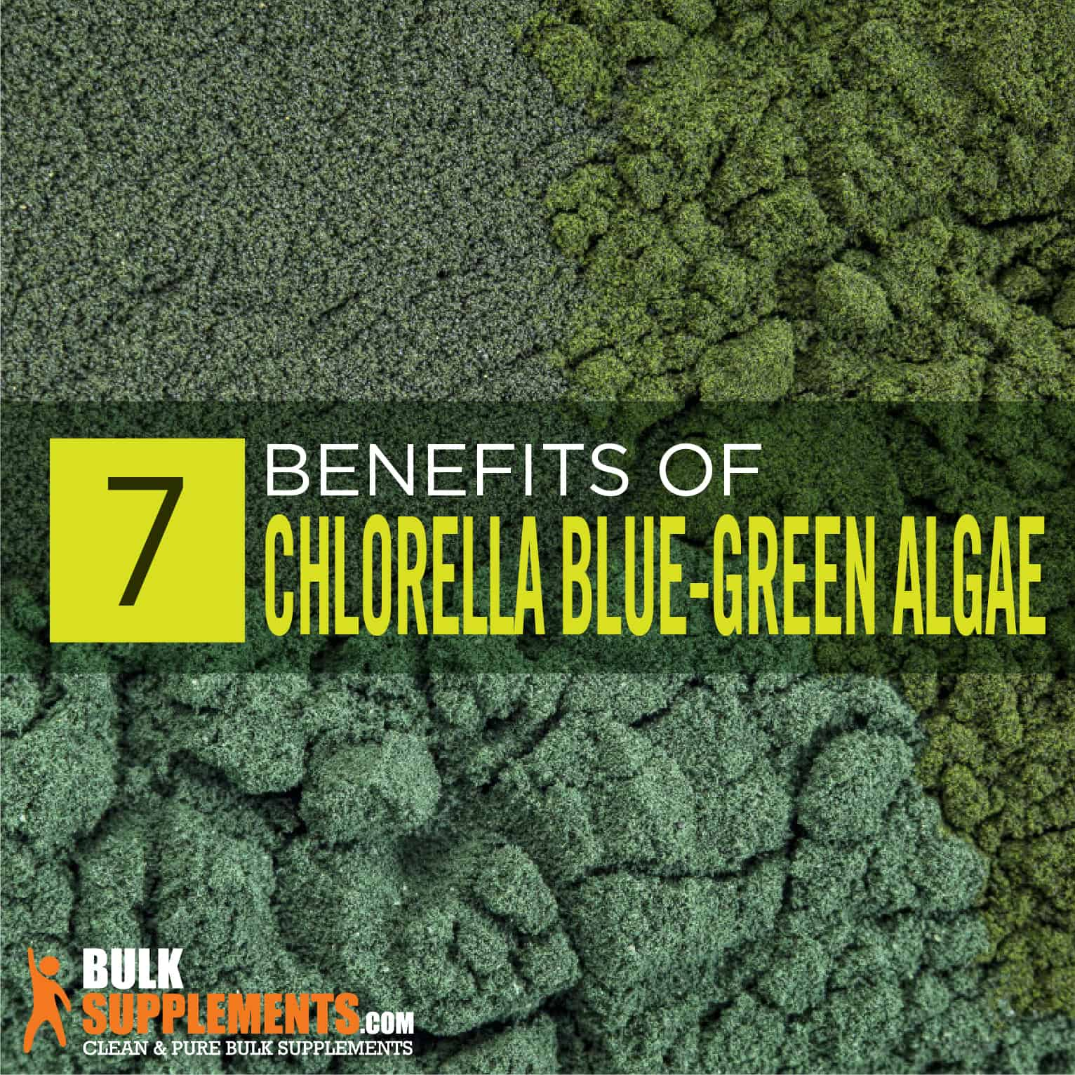 Chlorella Blue-Green Algae