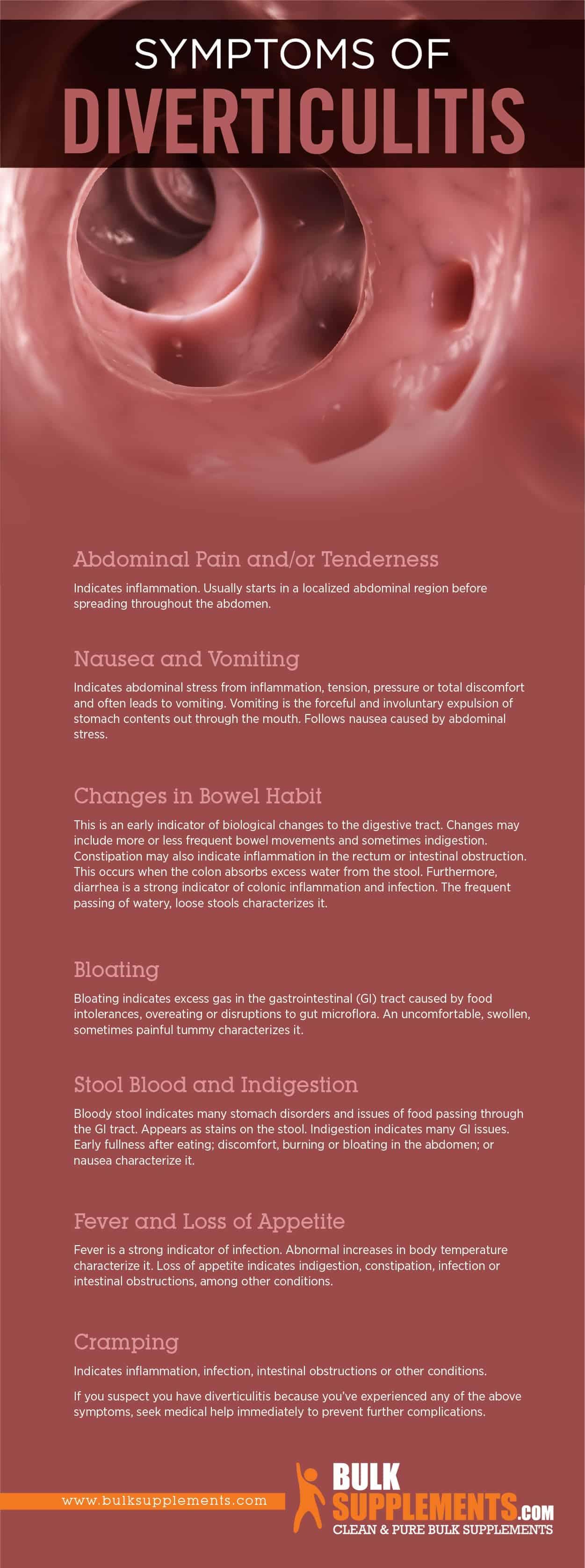 Diverticulitis: Symptoms, Causes & Treatment