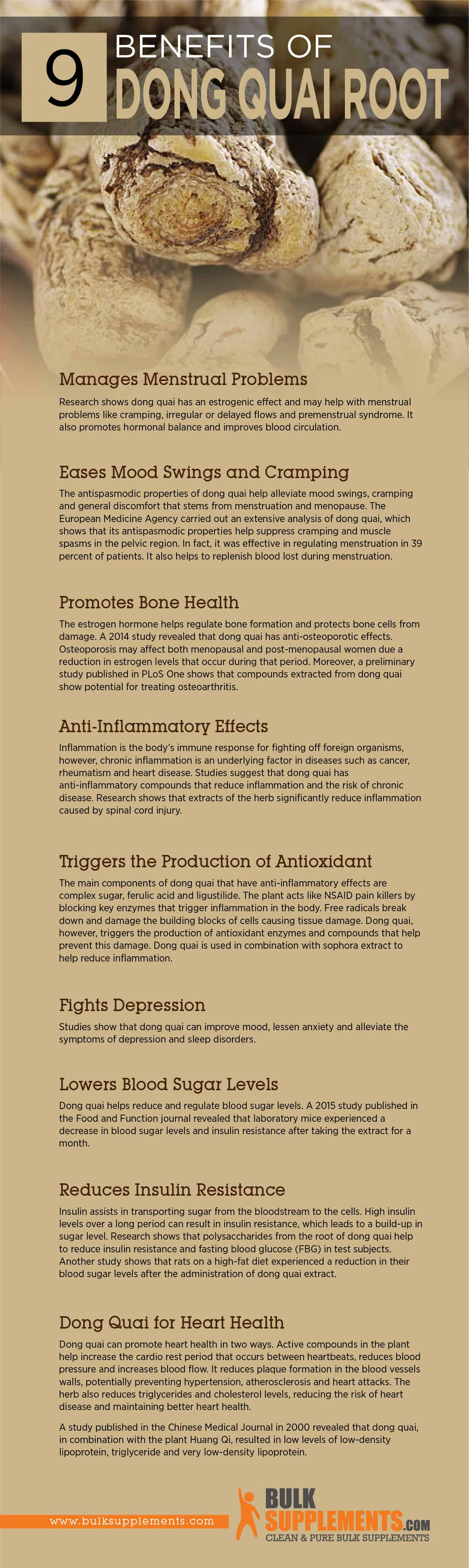 Dong Quai Extract: Benefits, Side Effects & Dosage   BulkSupplements com