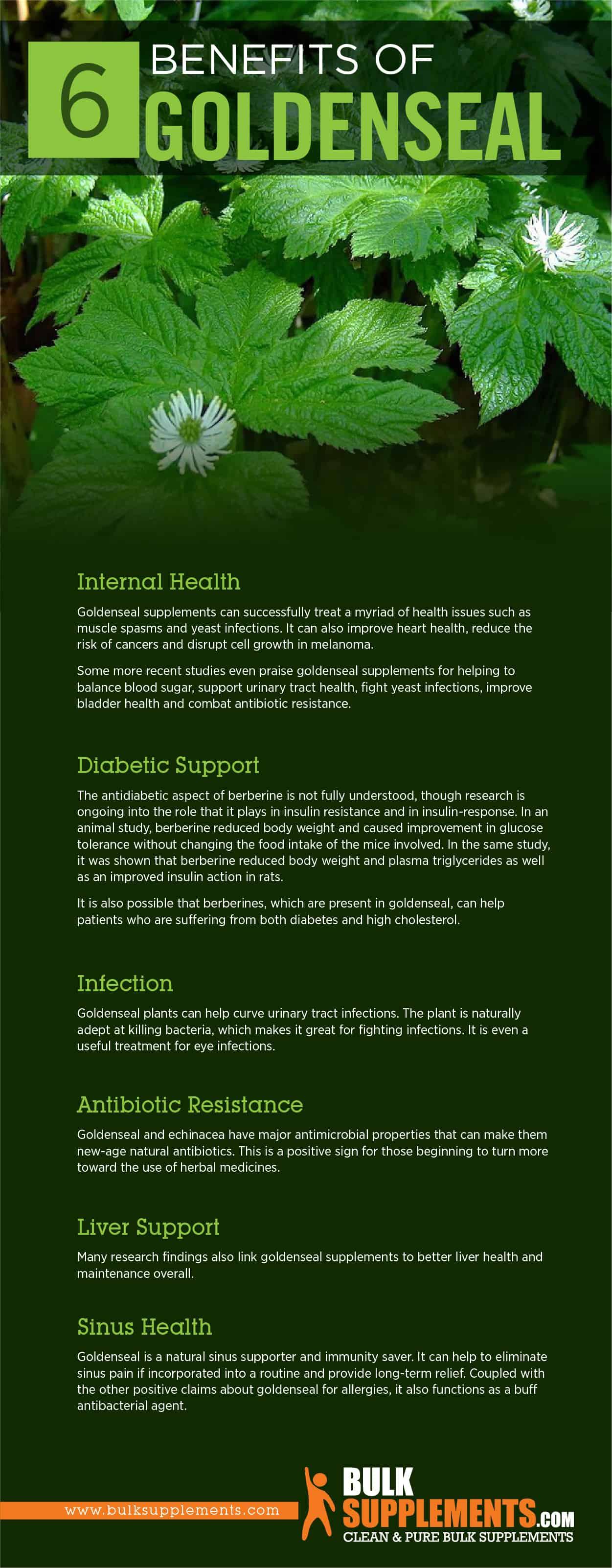 Goldenseal: Benefits, Side Effects & Dosage