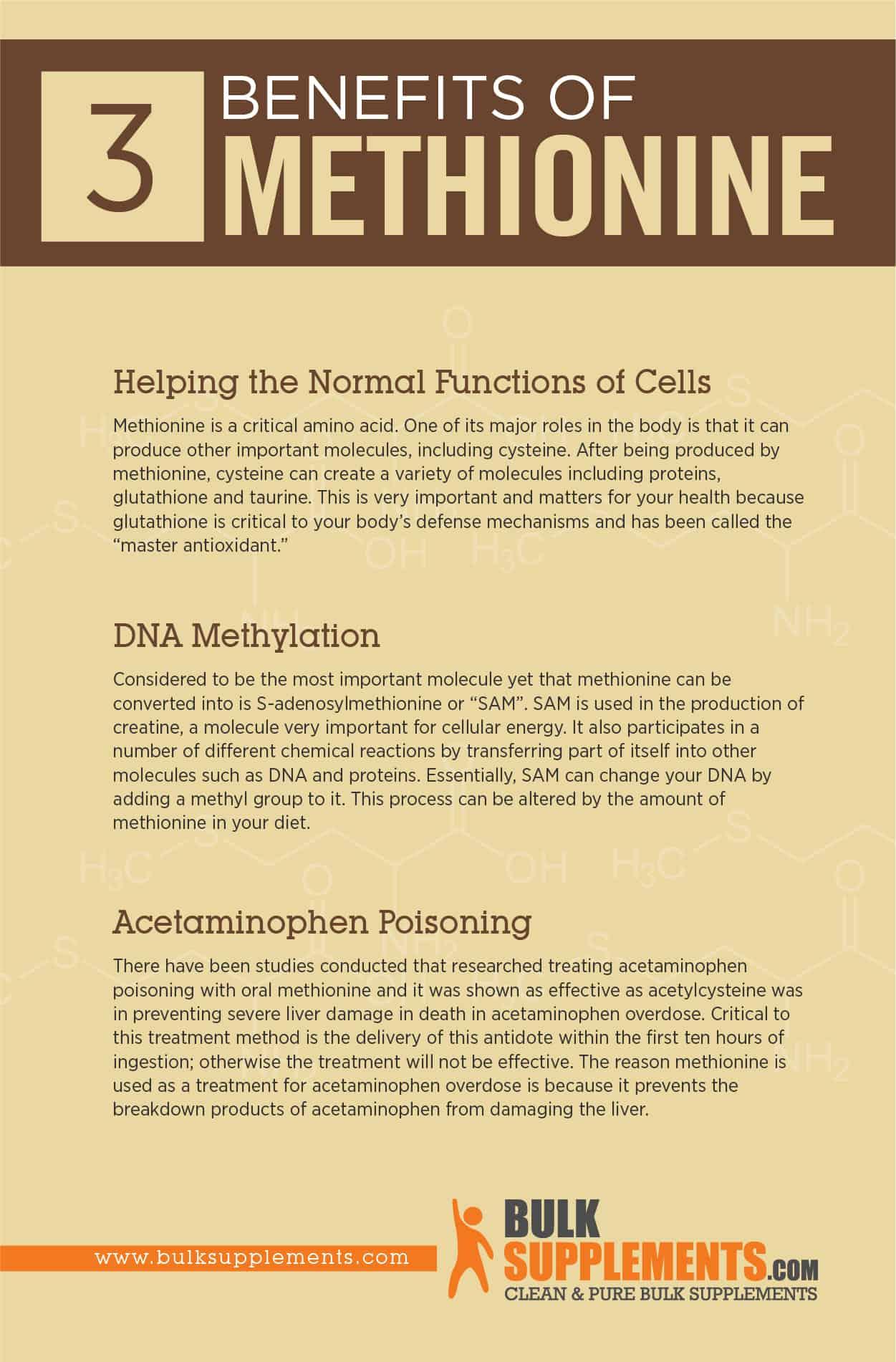 Methionine Benefits