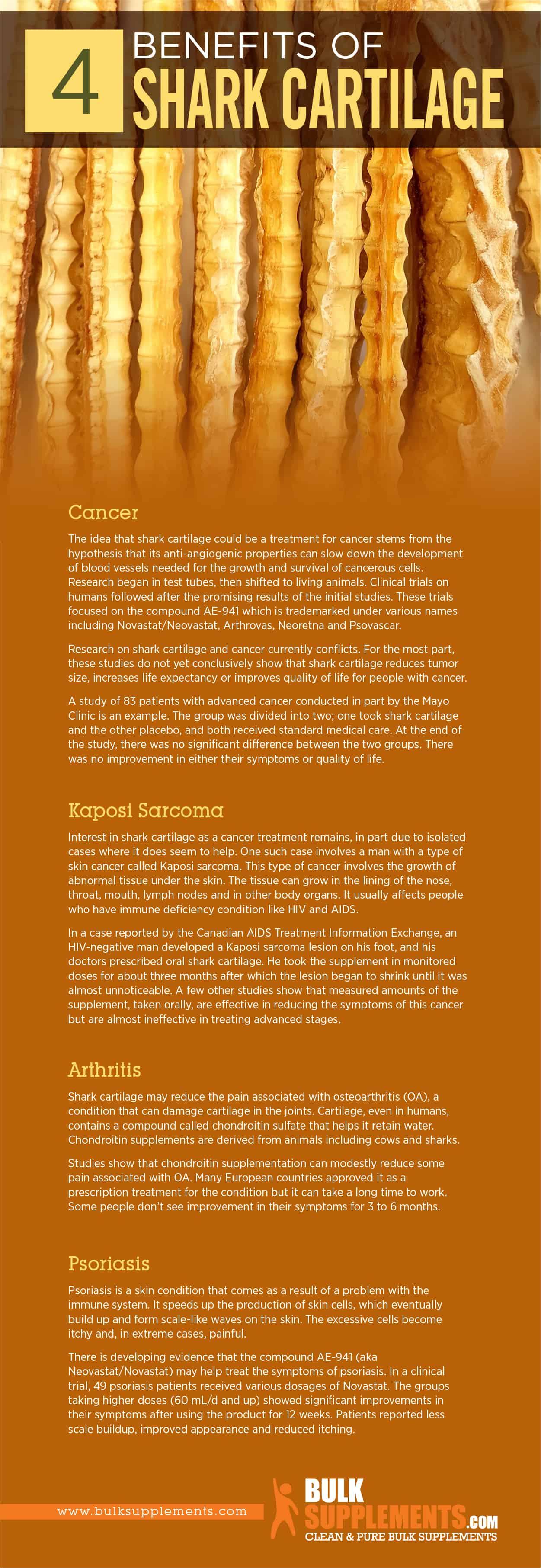 Shark Cartilage Benefits