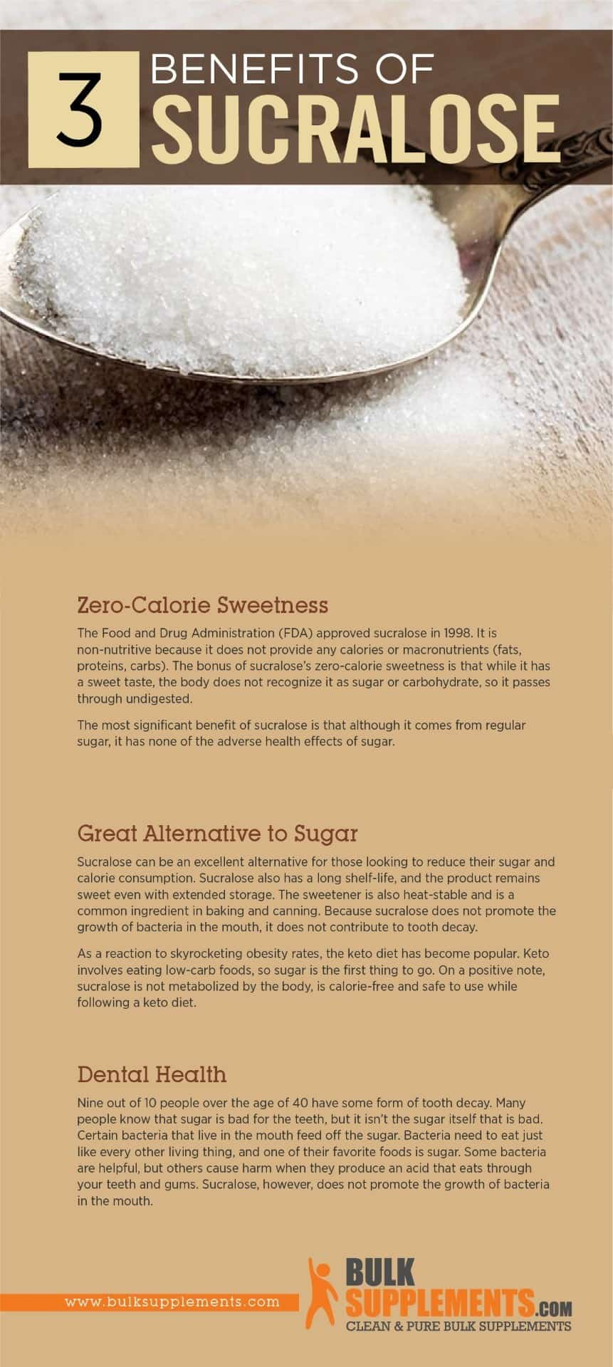 Benefits of Sucralose Sweetener