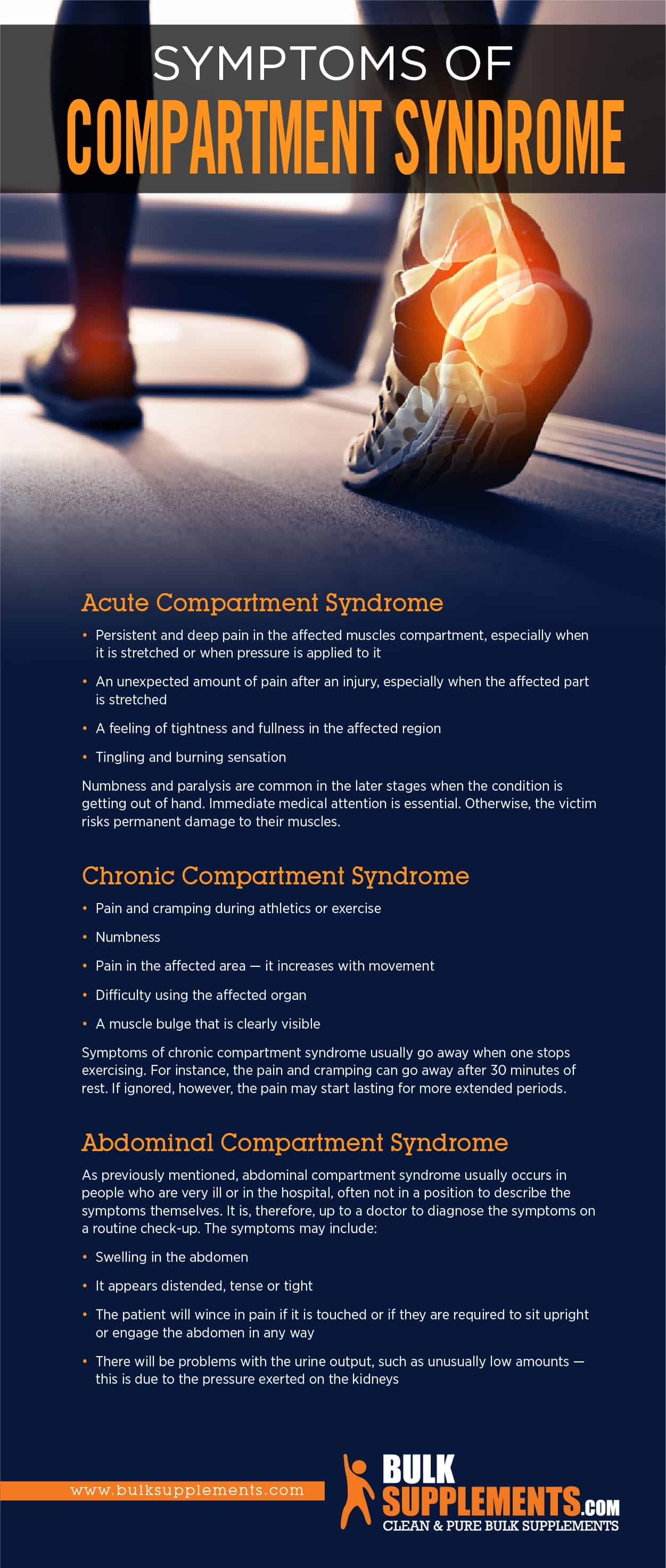 Compartment Syndrome Symptoms