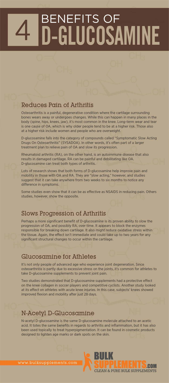 D-Glucosamine Benefits