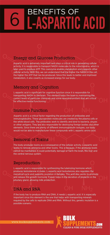 L-Aspartic Acid Benefits