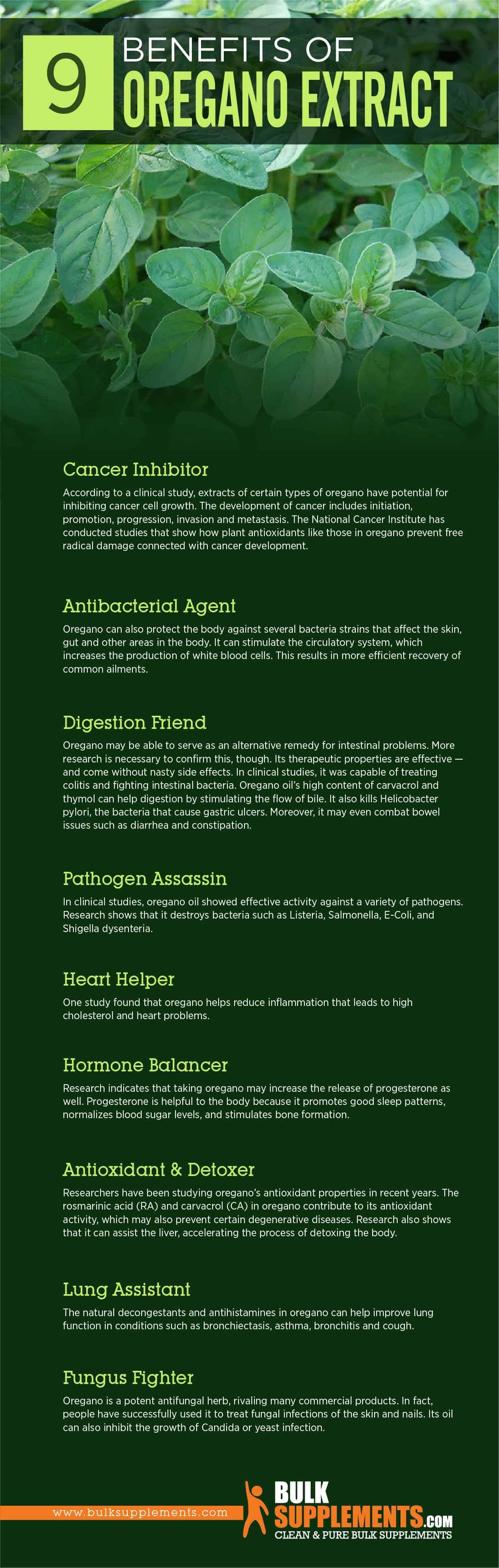 Oregano Extract Benefits