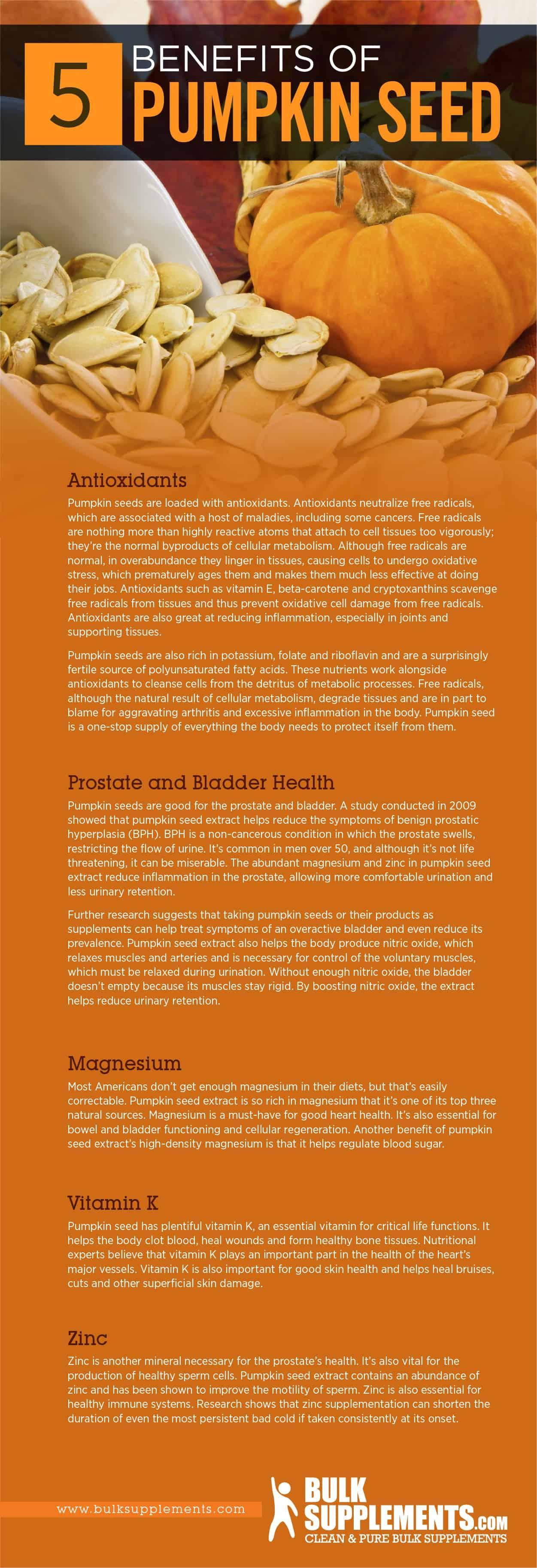 Pumpkin Seed Benefits