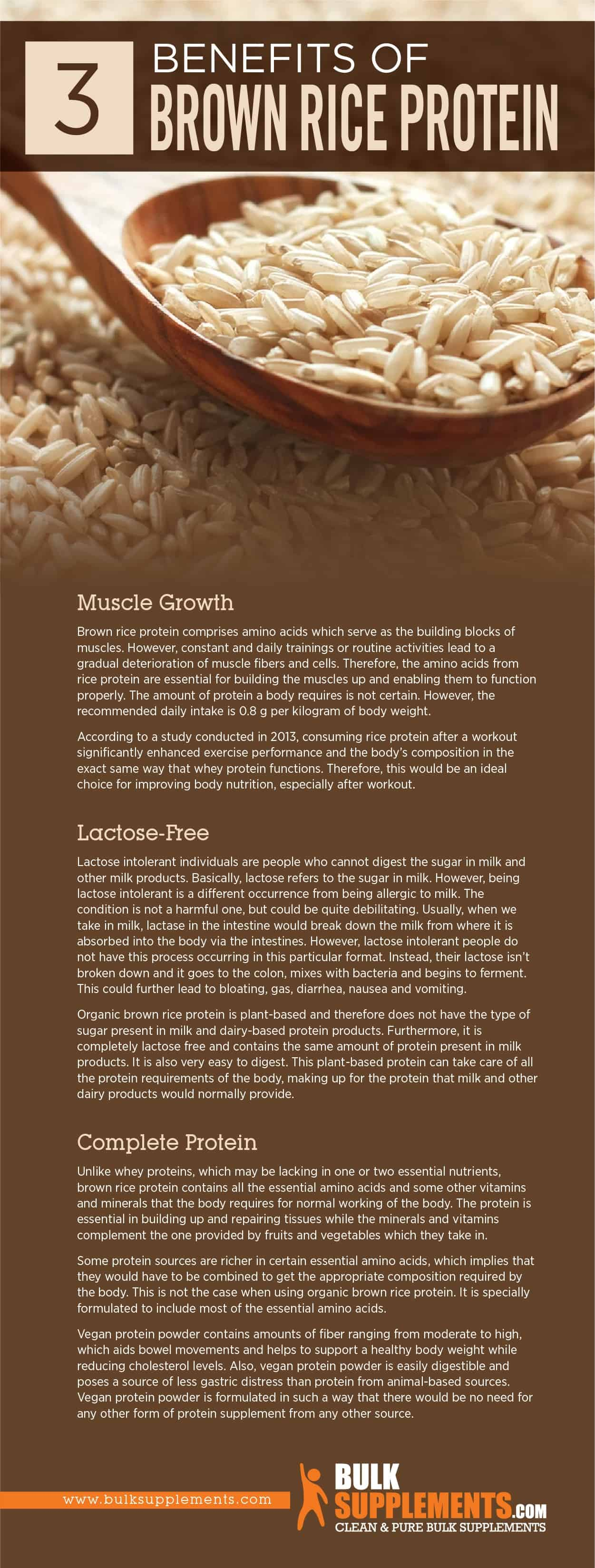Brown Rice Protein Benefits