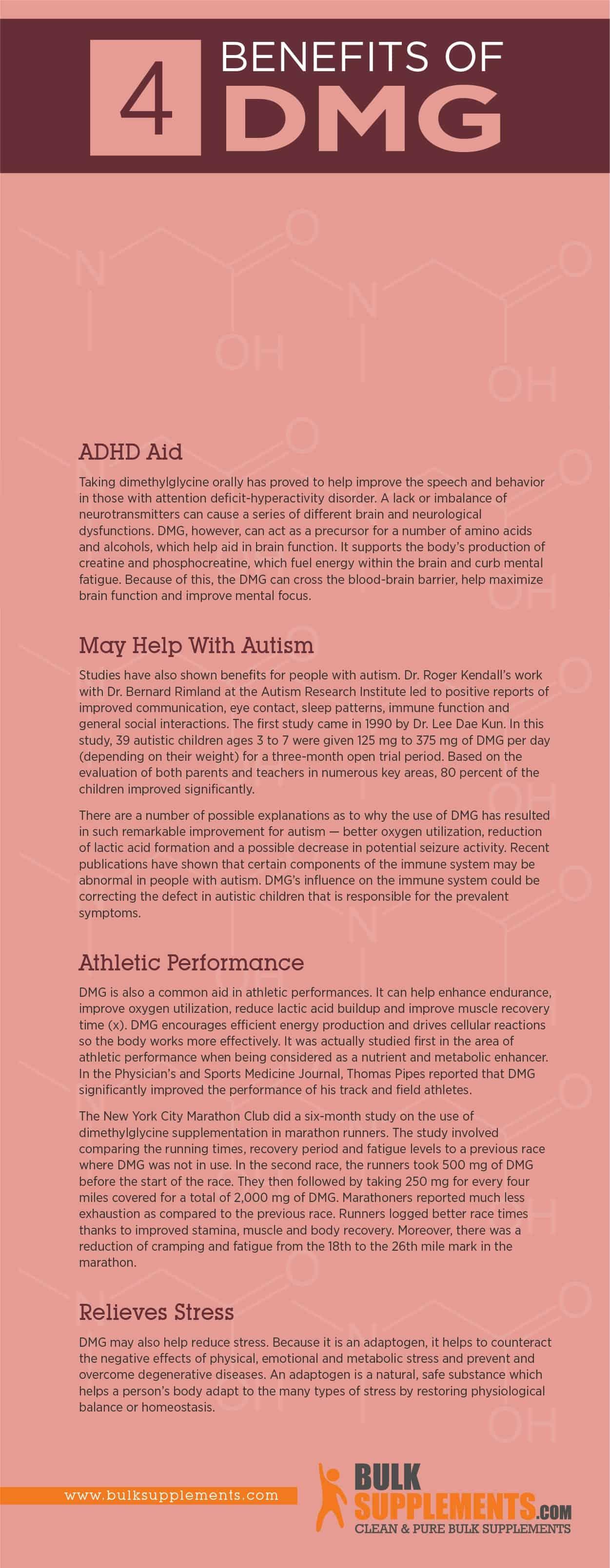 DMG Benefits