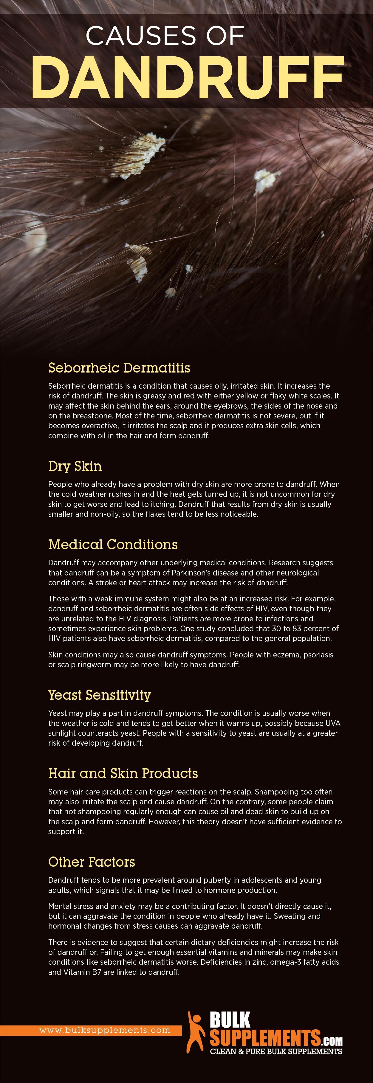 Dandruff Causes
