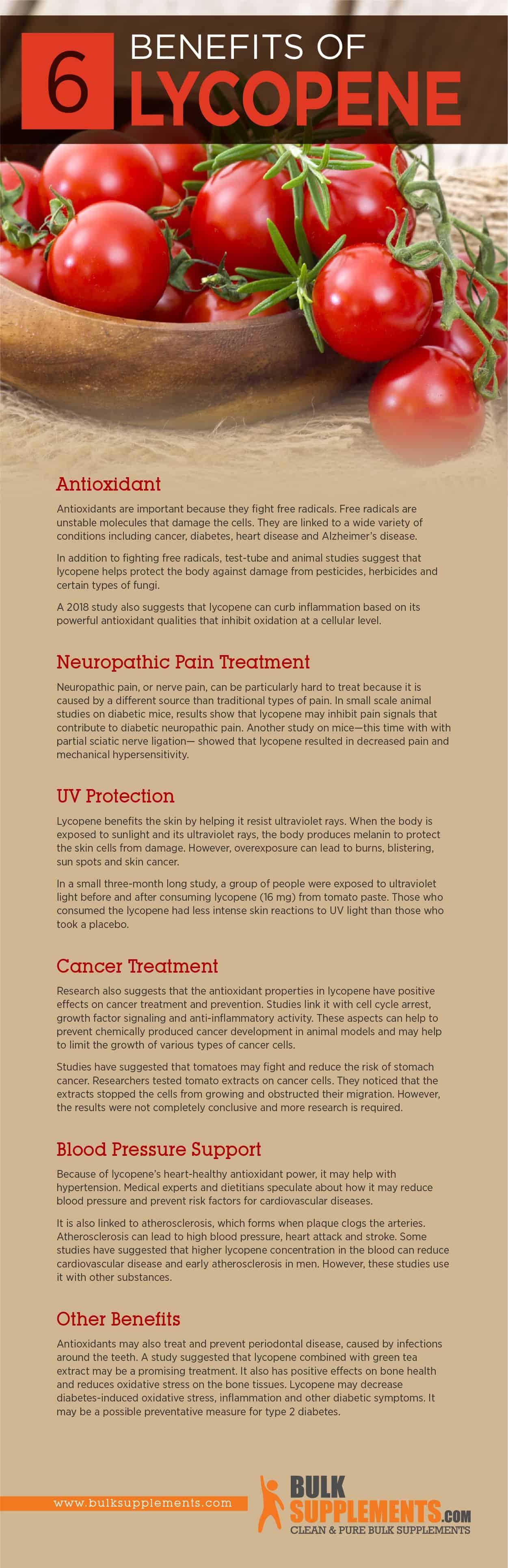 Lycopene Benefits