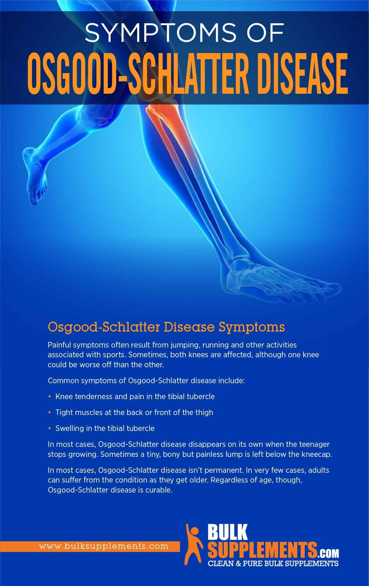 Osgood-Schlatter Disease Symptoms