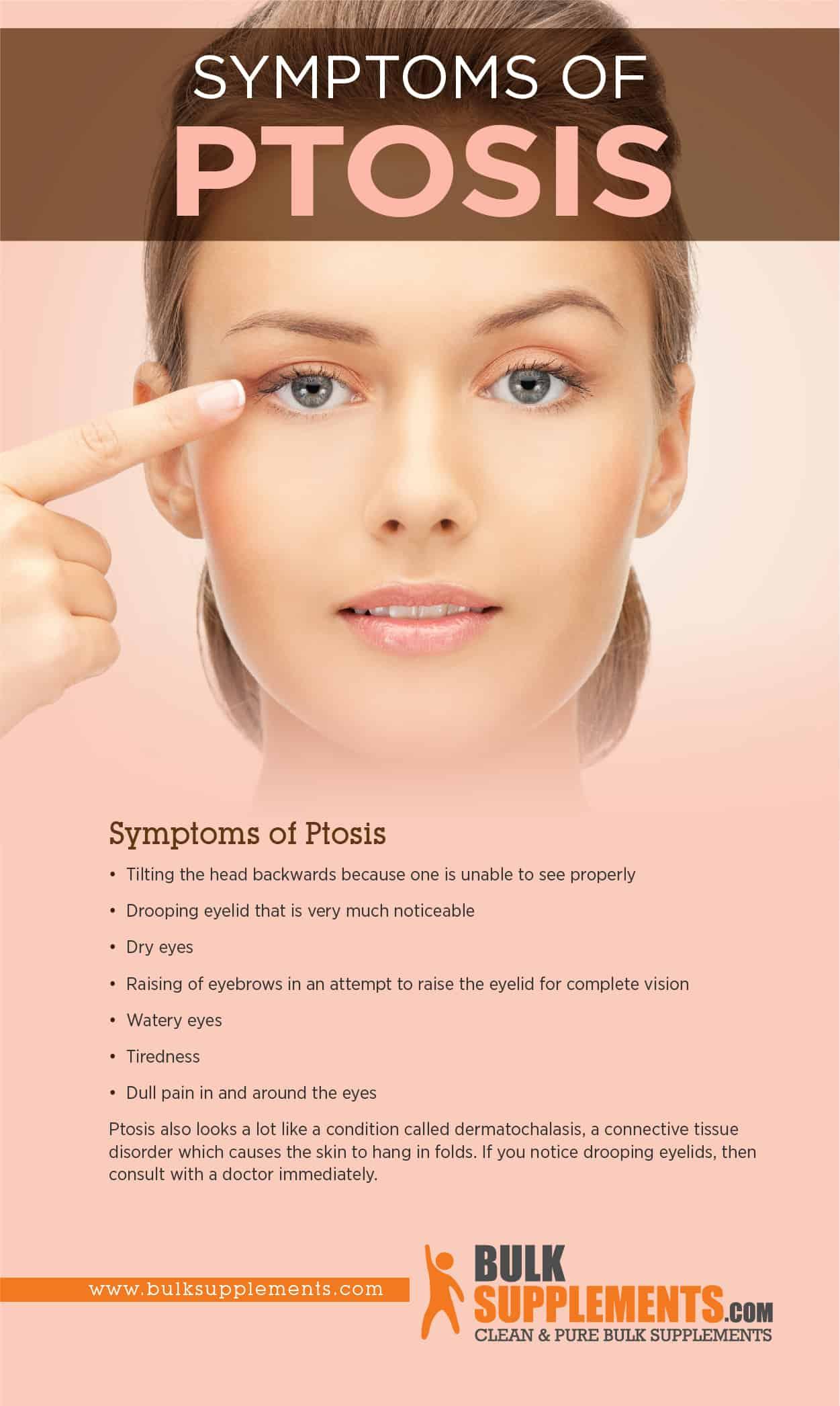 Ptosis Symptoms