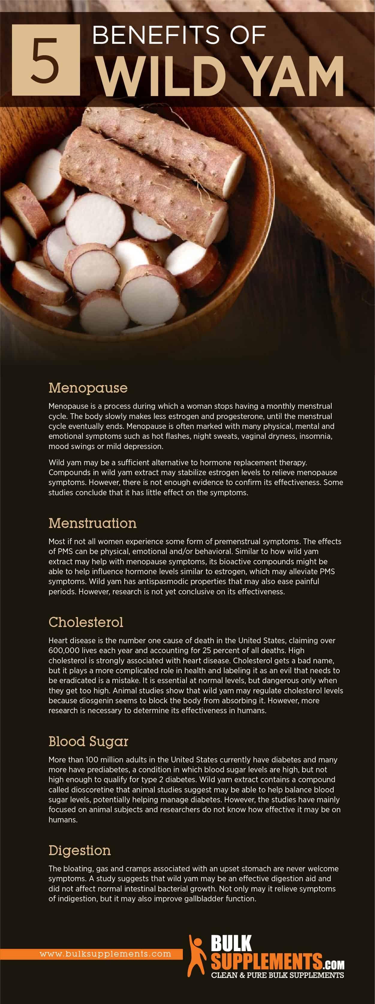 Wild Yam Benefits