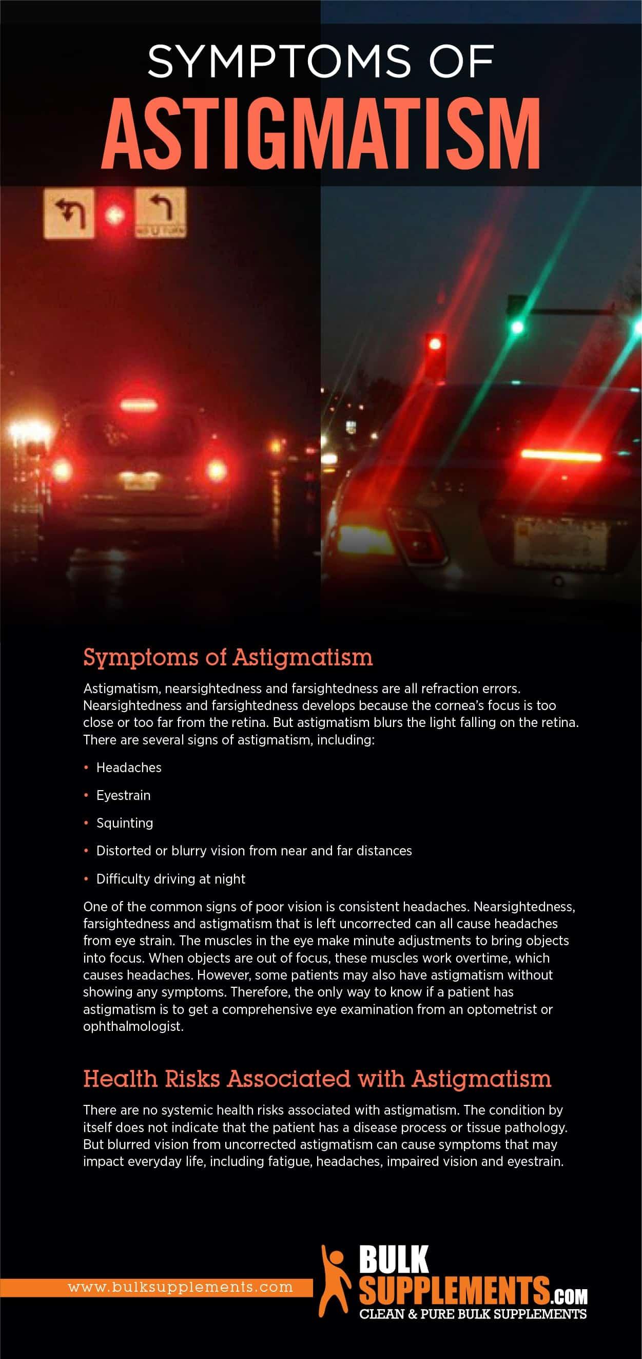 Symptoms of Astigmatism