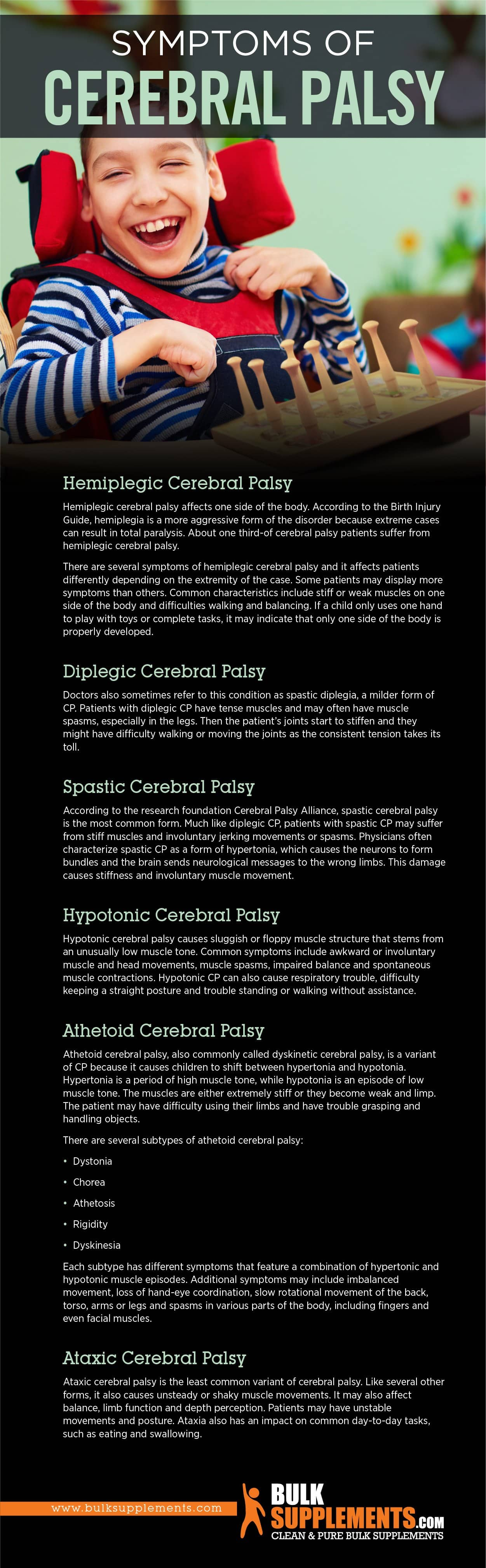 Symptoms of Cerebral Palsy