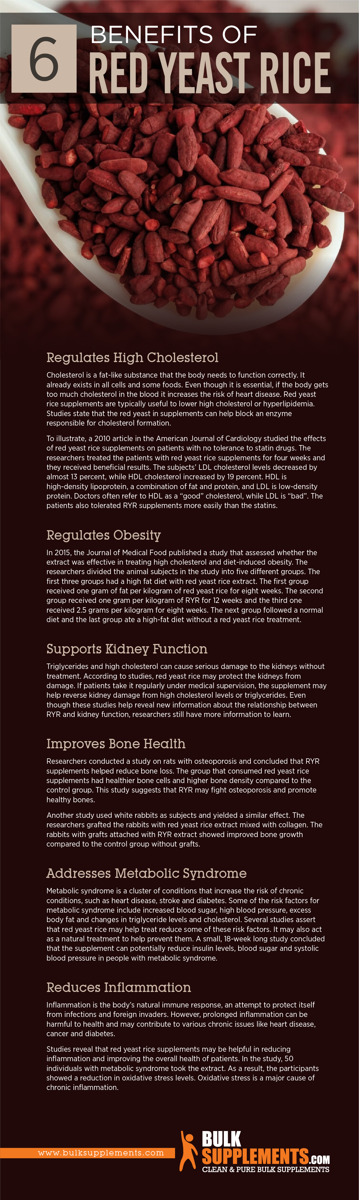 Benefits of Red Yeast Rice
