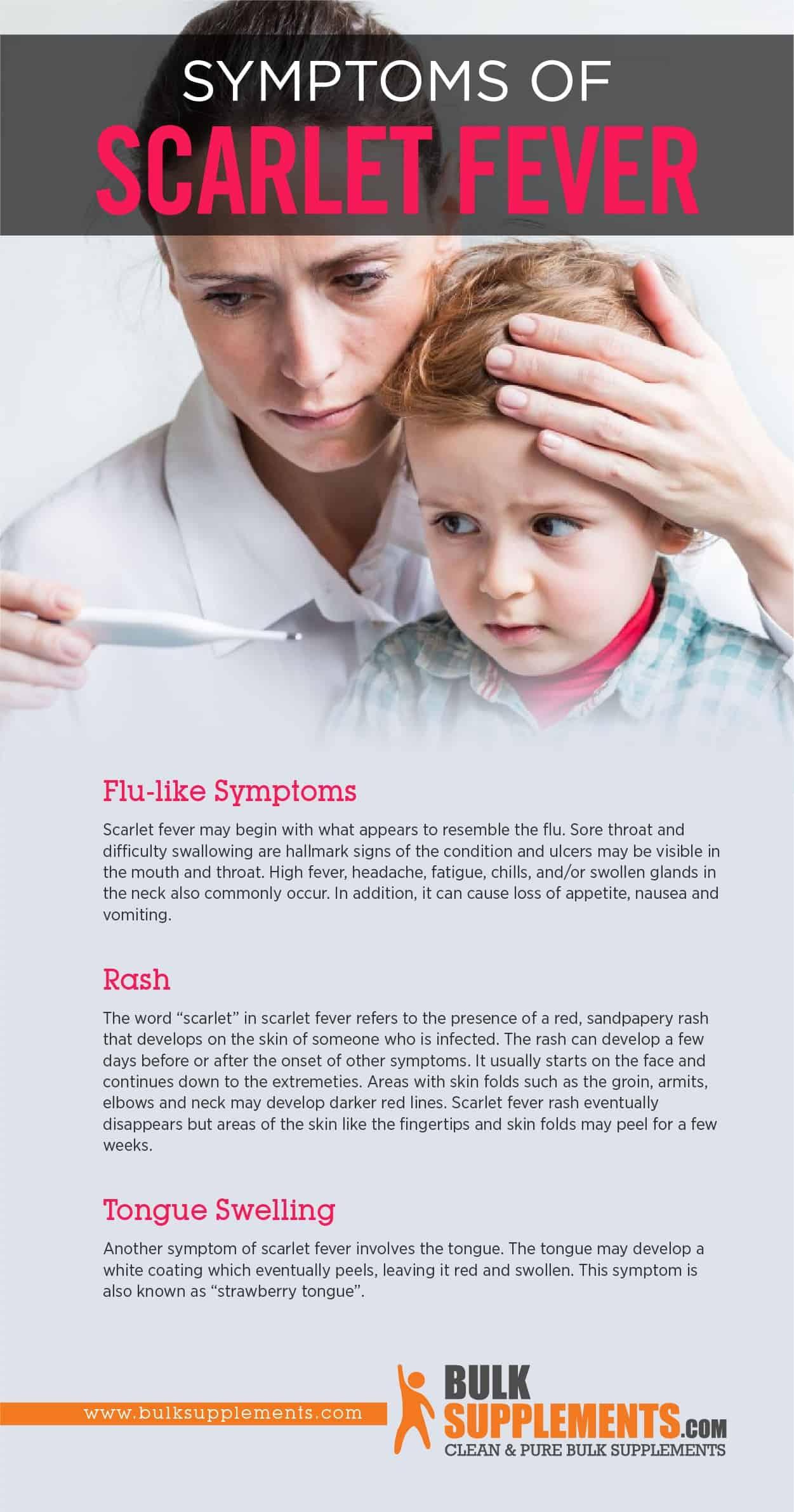 Scarlet Fever Symptoms