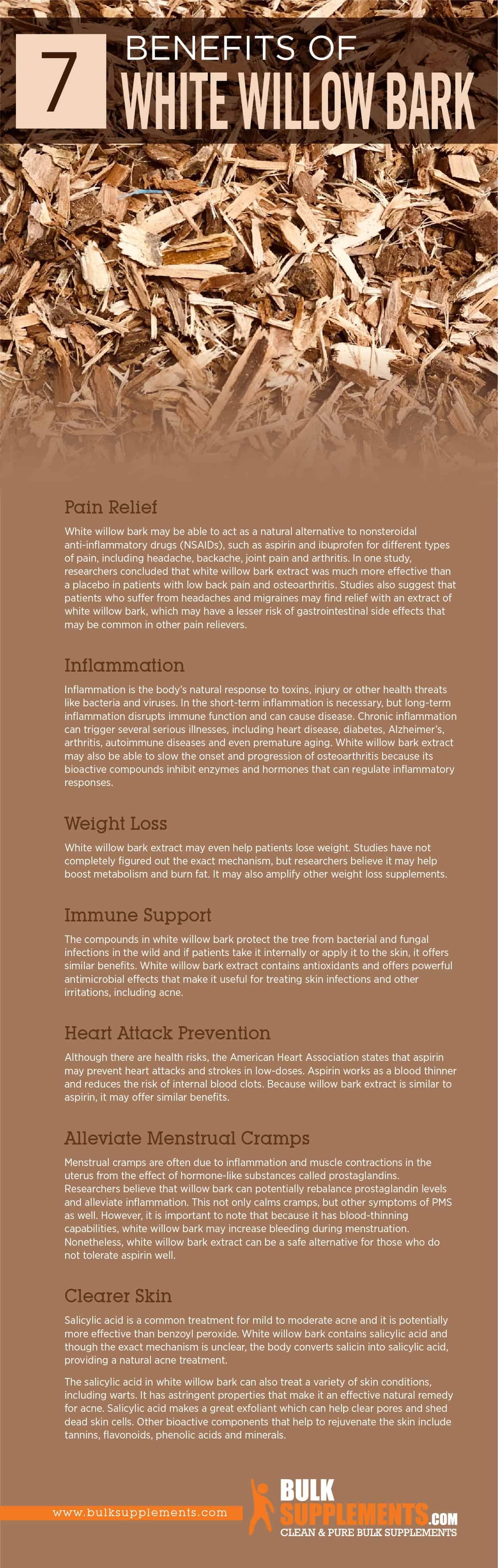 White Willow Bark Benefits