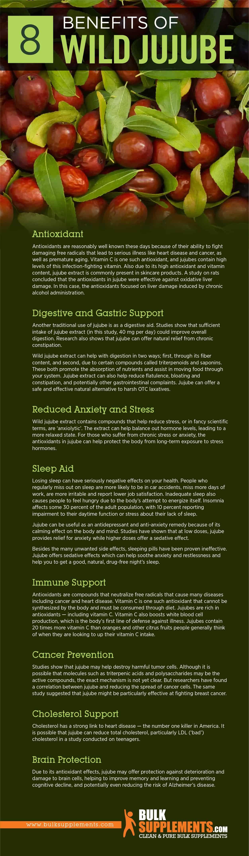 Wild Jujube Benefits