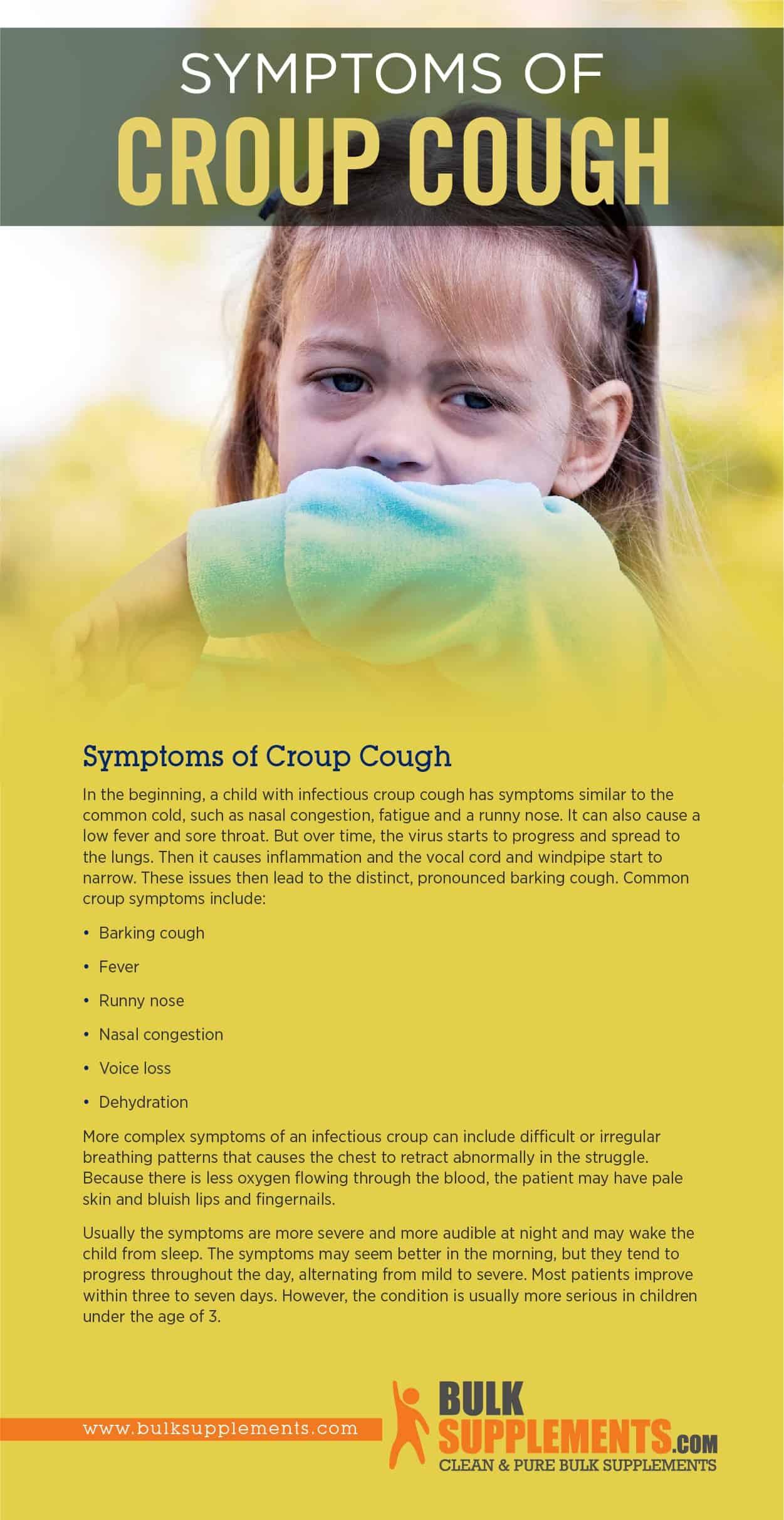 Symptoms of Croup Cough