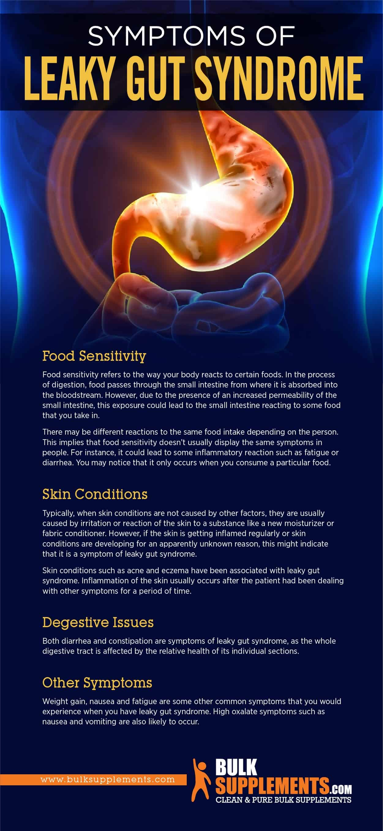 Symptoms of Leaky Gut Syndrome