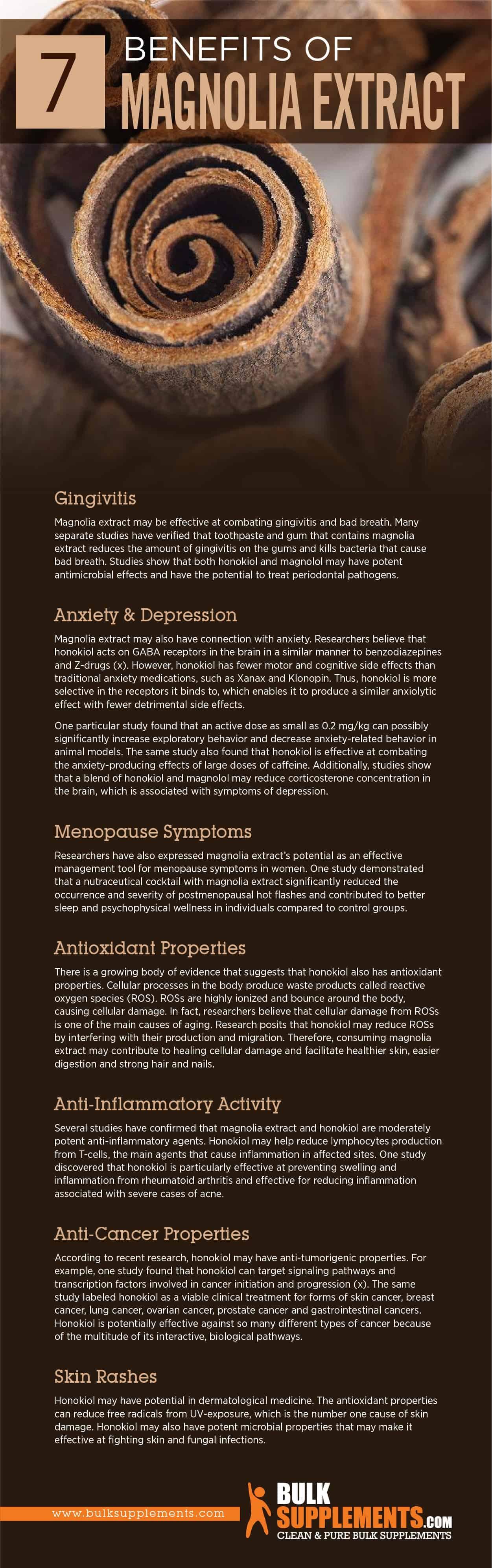 Benefits of Magnolia Extract